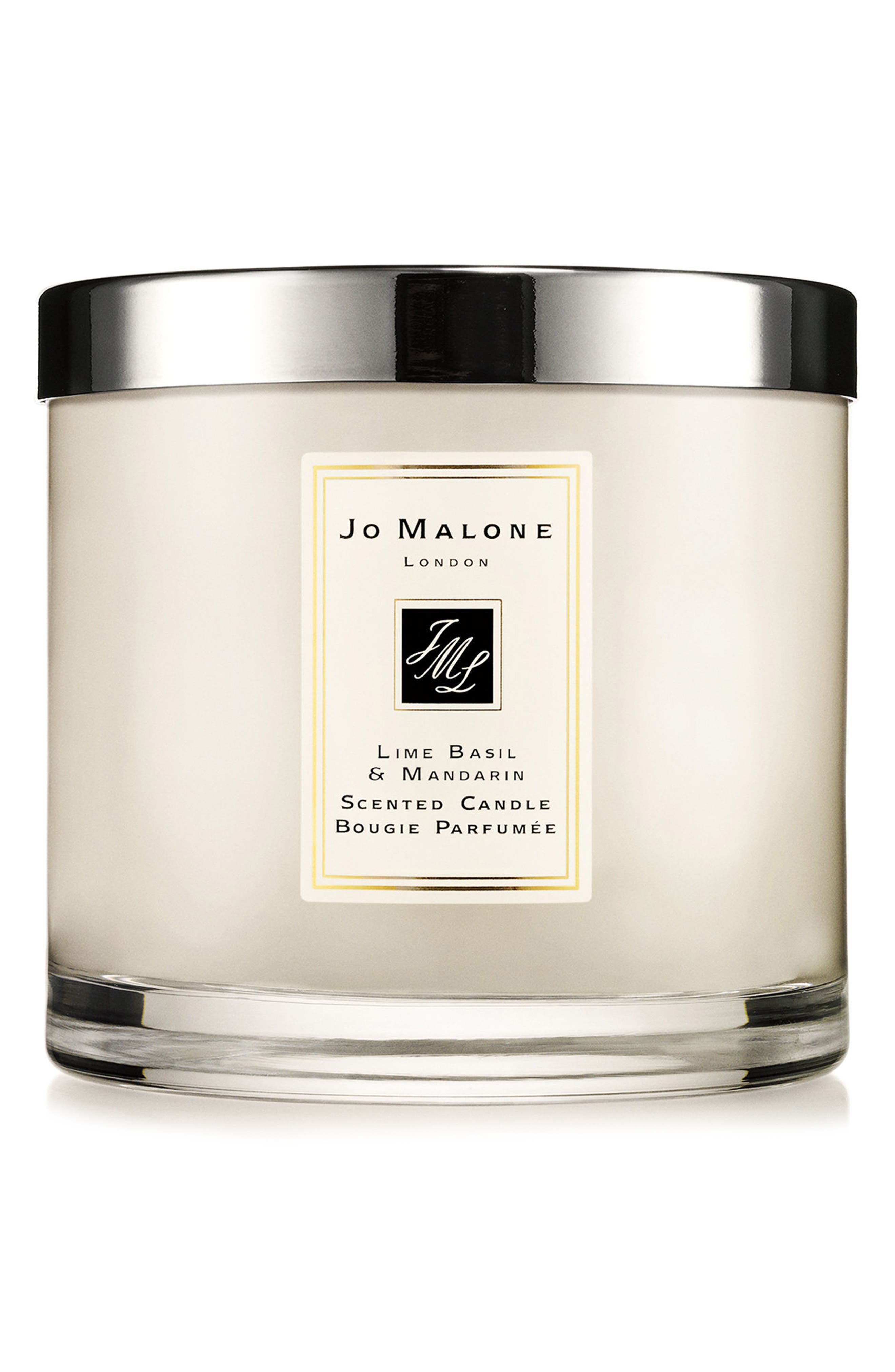 Jo Malone<sup>™</sup> 'Lime Basil & Mandarin' Luxury Candle,                             Main thumbnail 1, color,                             No Color
