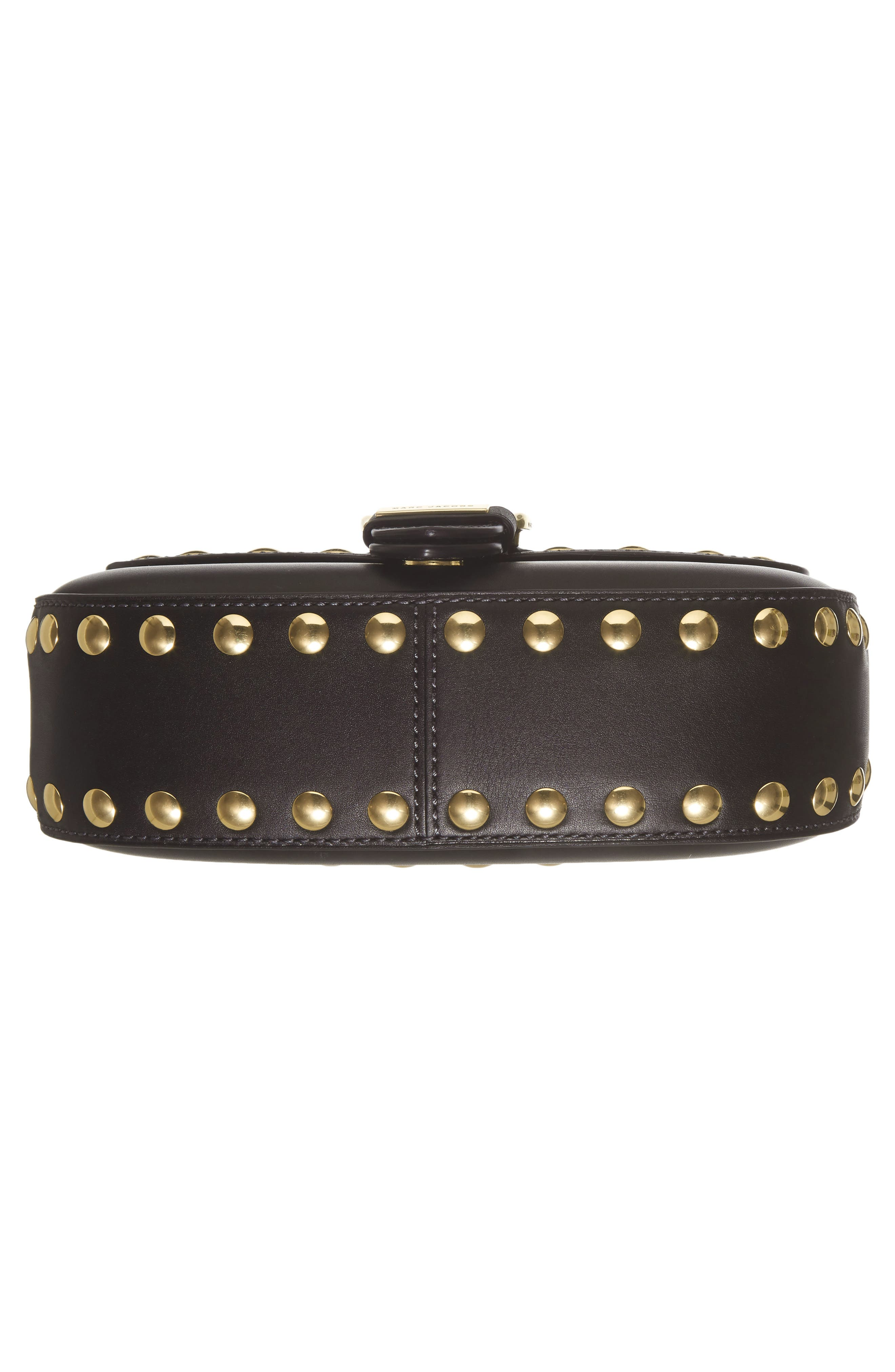Alternate Image 4  - MARC JACOBS Studded Navigator Leather Crossbody Bag