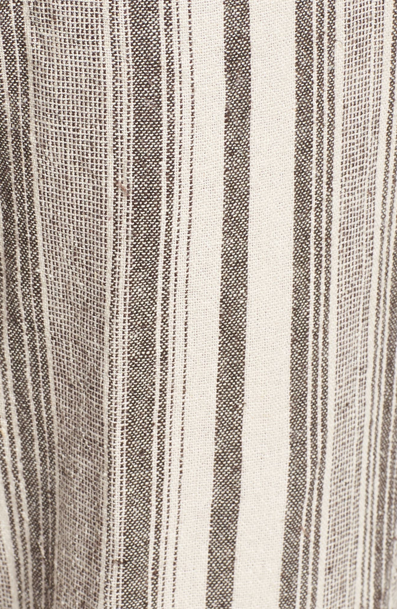 Alternate Image 5  - Wit & Wisdom Drawstring Stripe Crop Sailor Pants (Nordstrom Exclusive) (Regular & Petite)