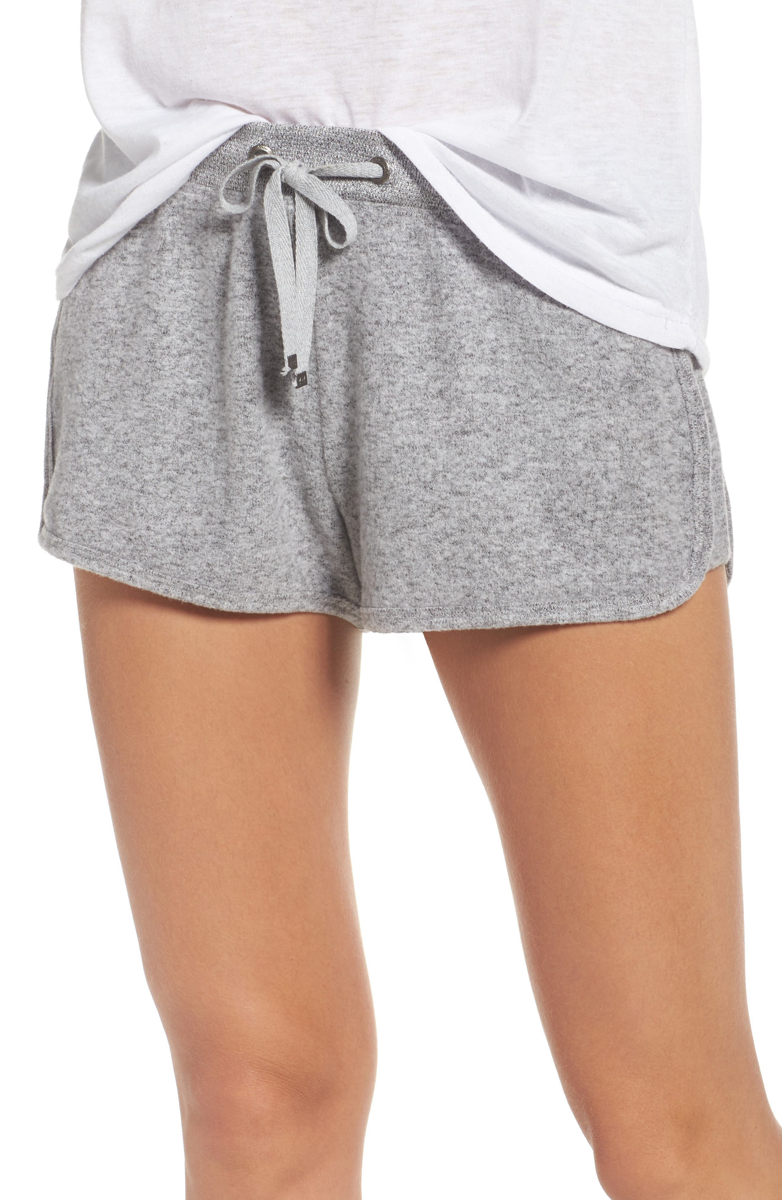 Bring It On Lounge Shorts,                         Main,                         color, Grey Flannel Marl