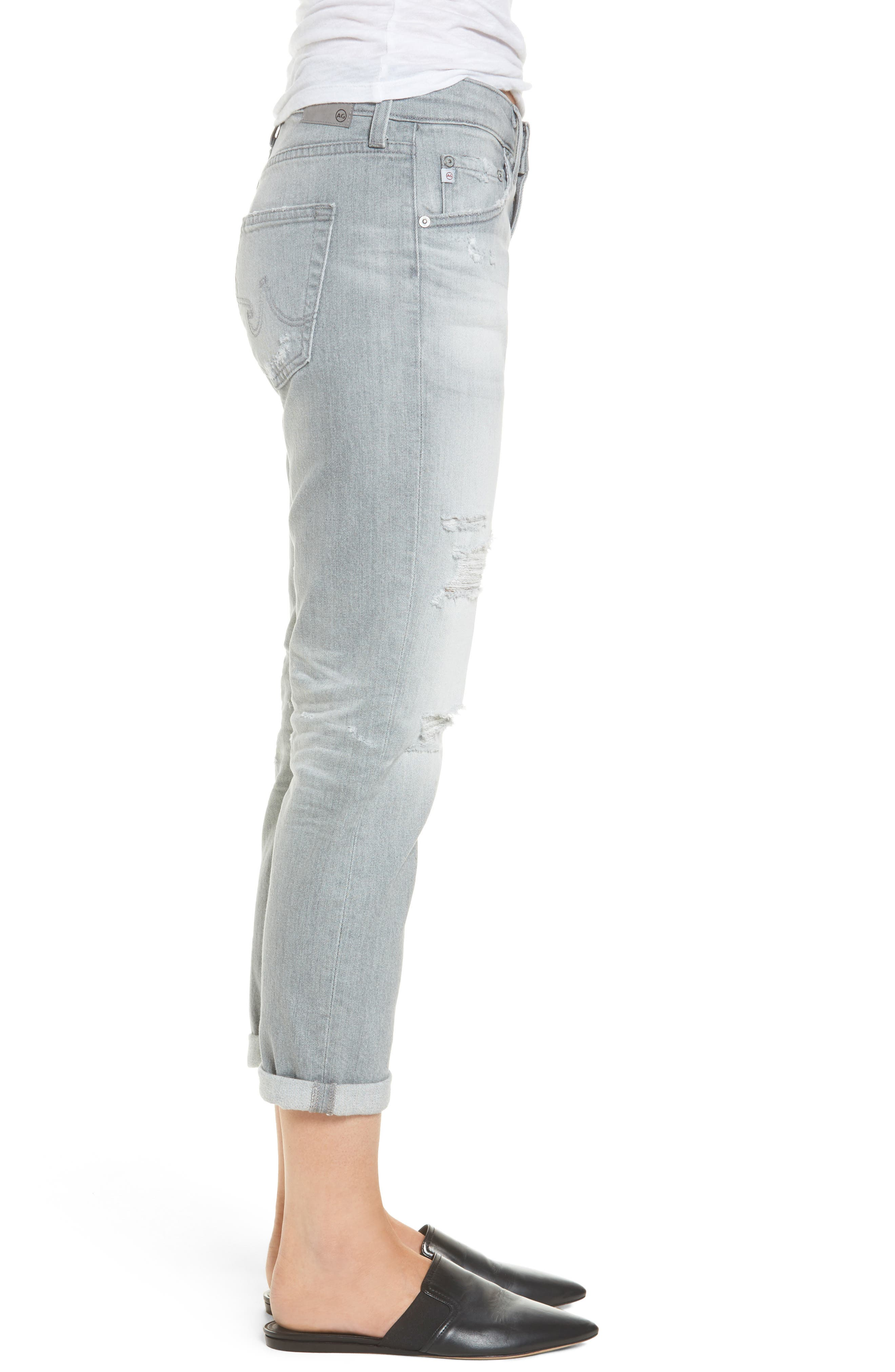 Ex-Boyfriend Slim Jeans,                             Alternate thumbnail 3, color,                             9 Years Cadence