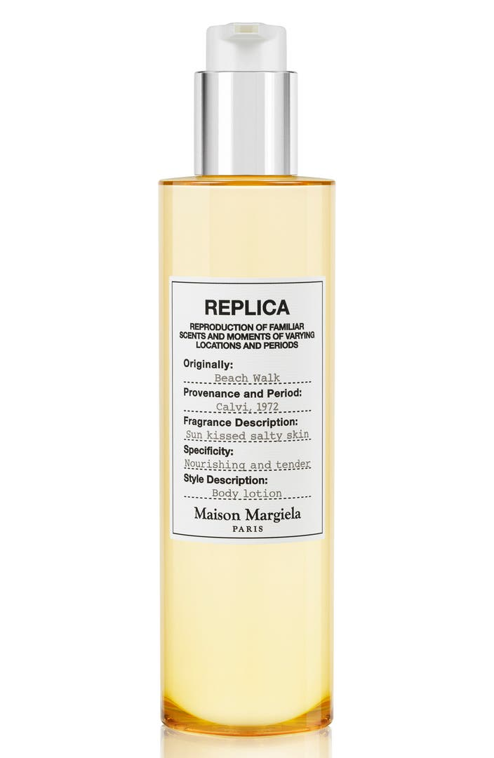 Maison margiela replica beach walk perfumed body lotion for A la maison lotion