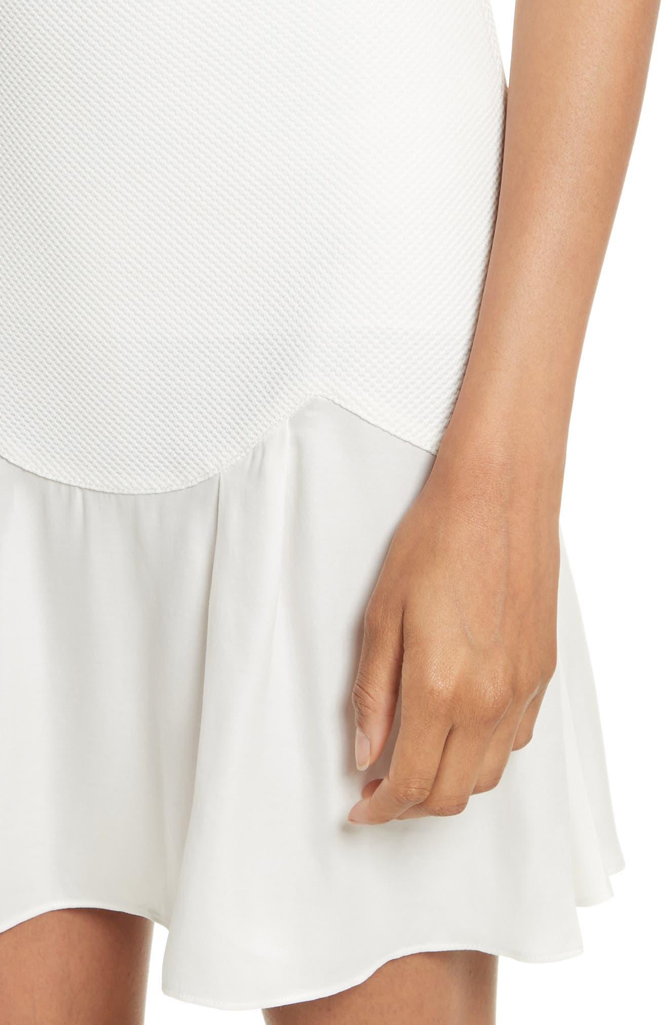 Alternate Image 4  - Rebecca Taylor Stacy Drop Waist Dress