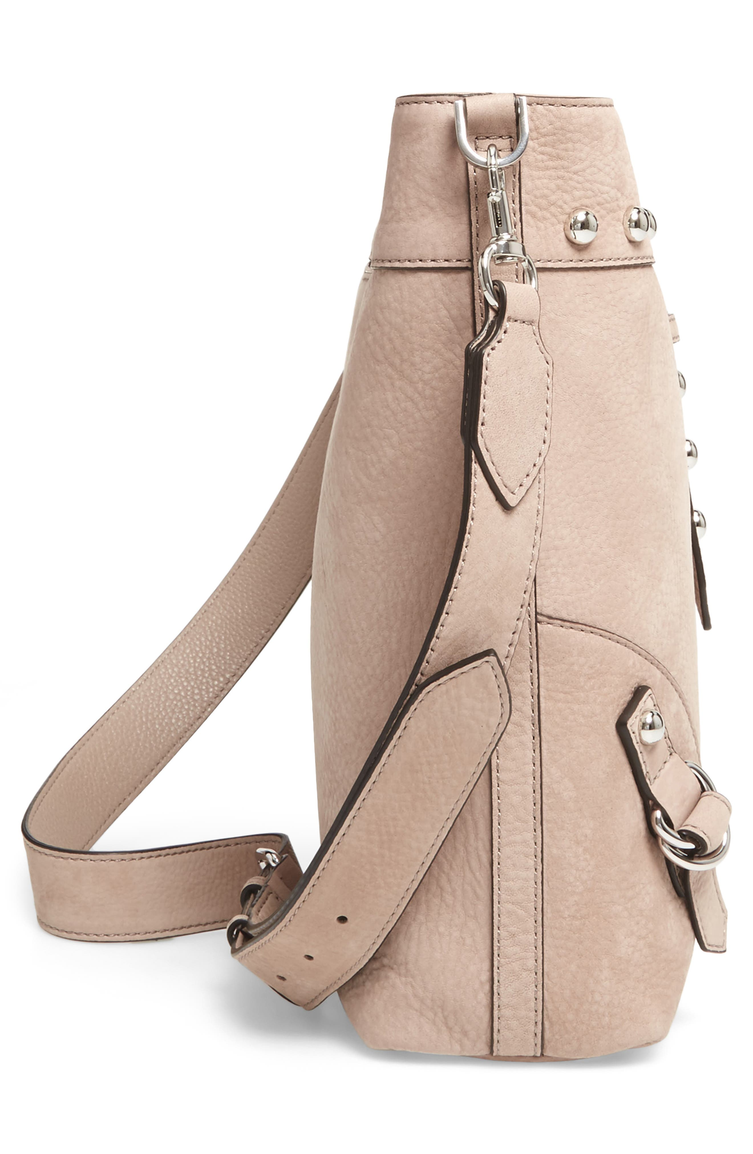Alternate Image 5  - Rebecca Minkoff Rose Leather Bucket Bag