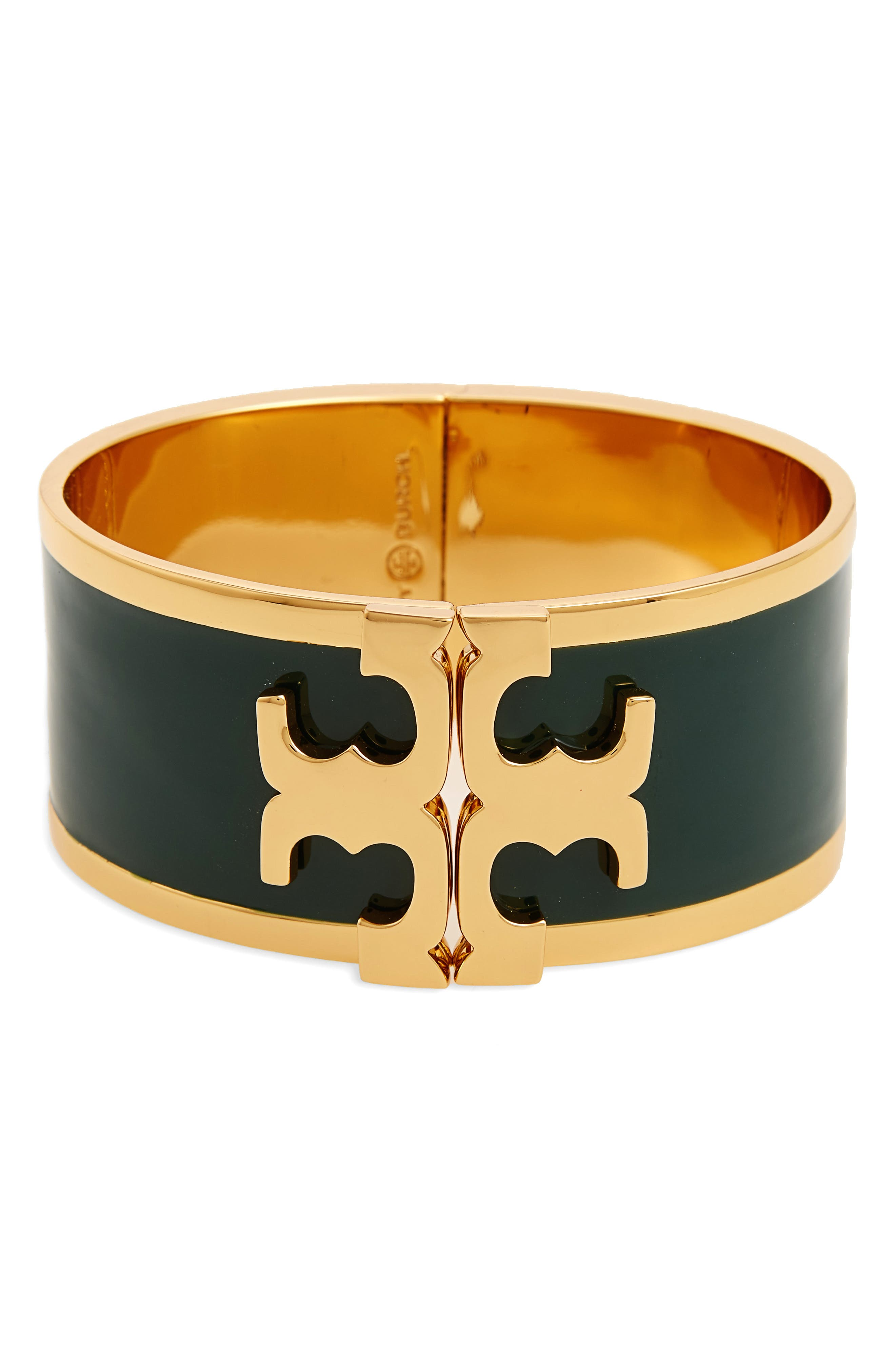 Main Image - Tory Burch Enamel Logo Bracelet