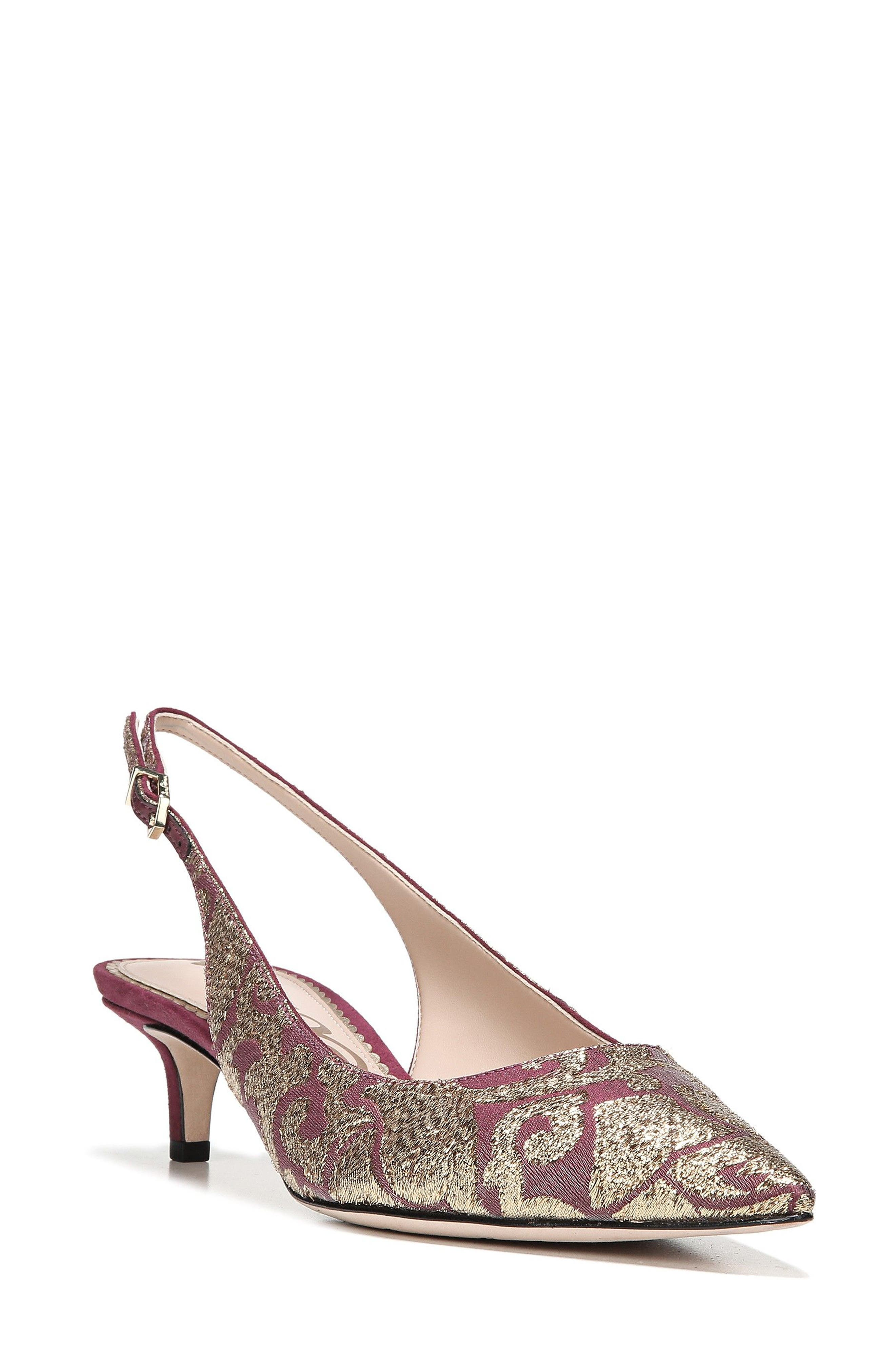 Alternate Image 1 Selected - Sam Edelman Ludlow Slingback Pump (Women)