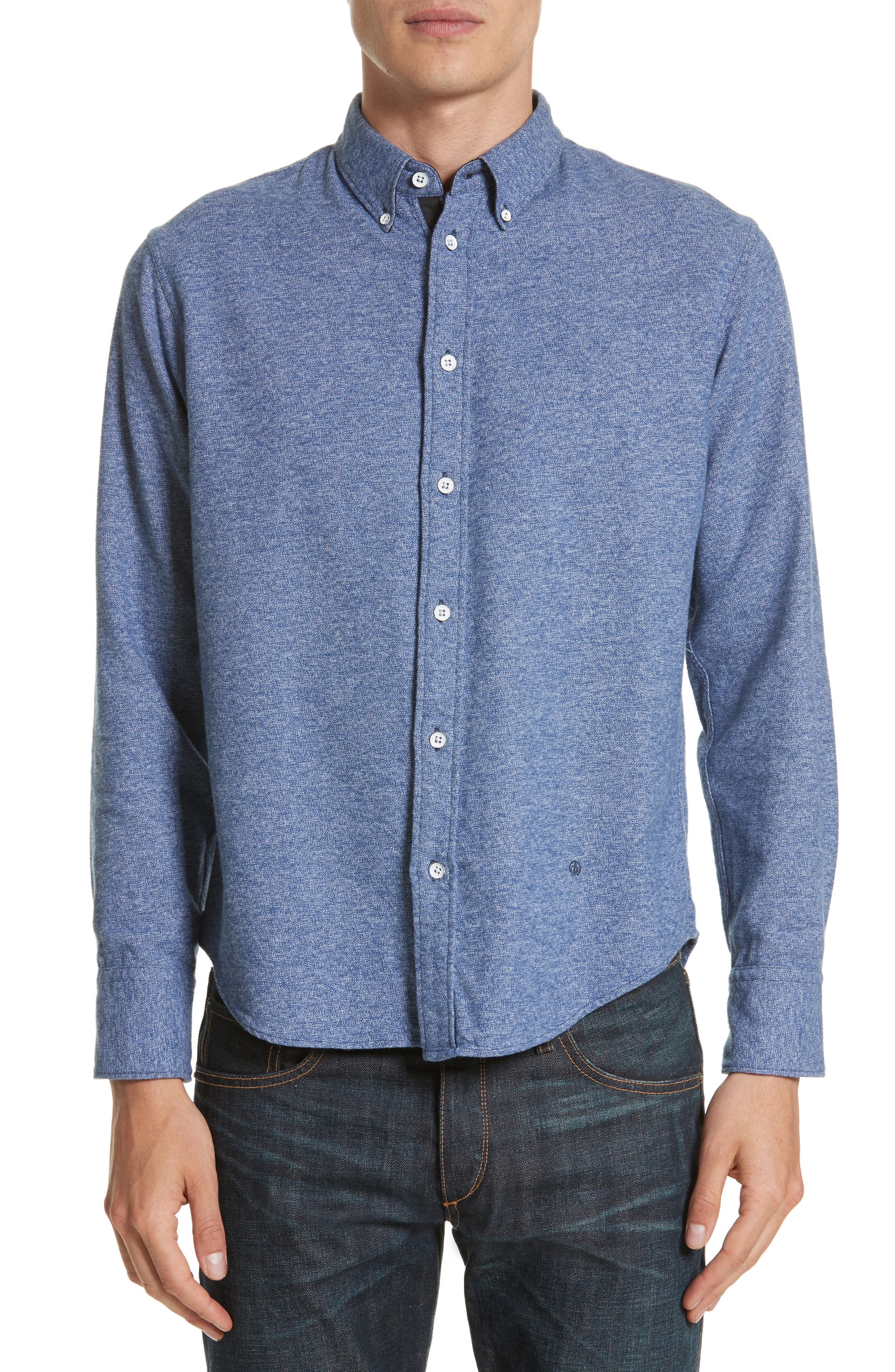rag & bone Fit 2 Base Woven Shirt
