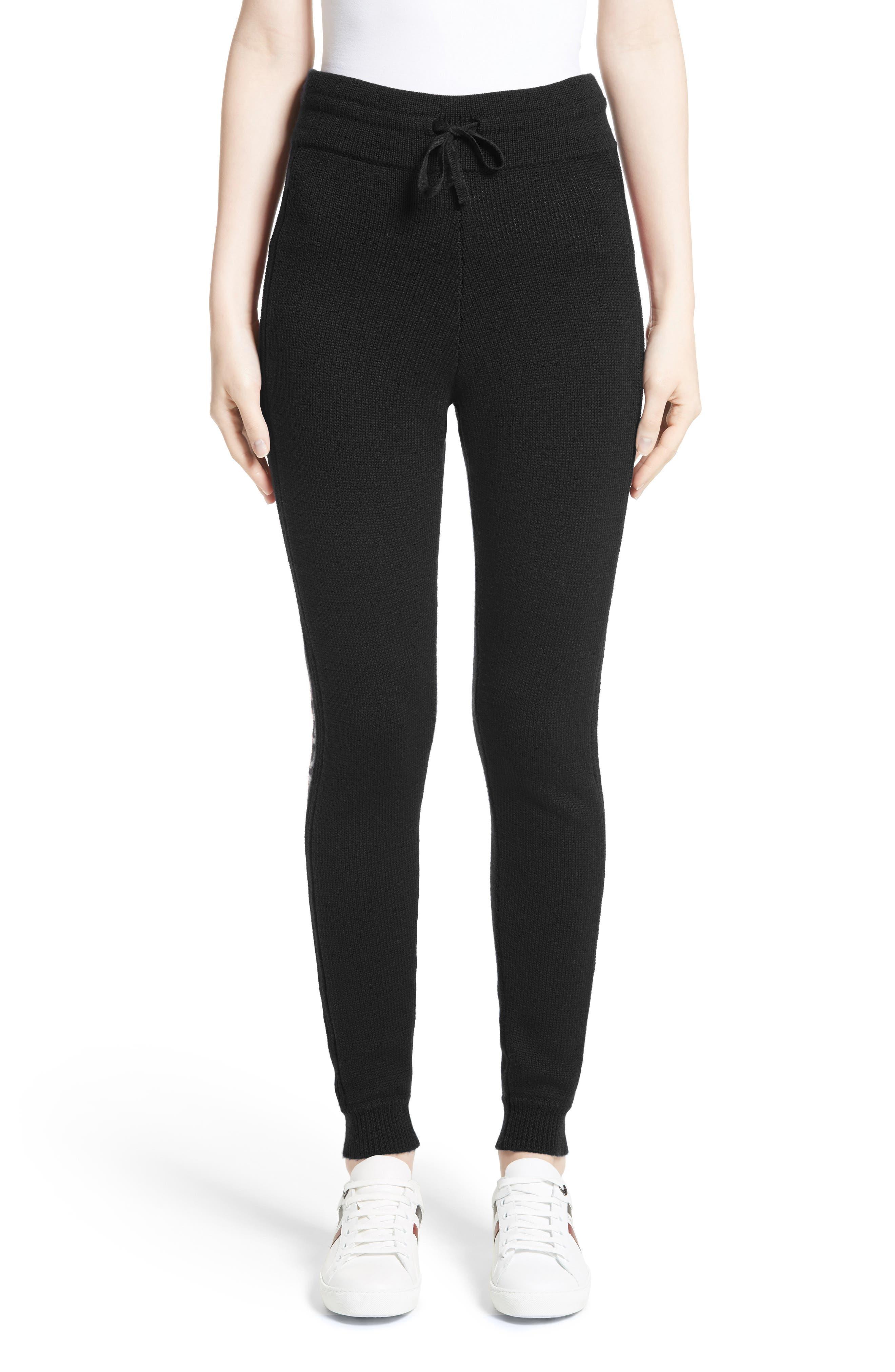 Main Image - Moncler Knit Wool Lounge Pants