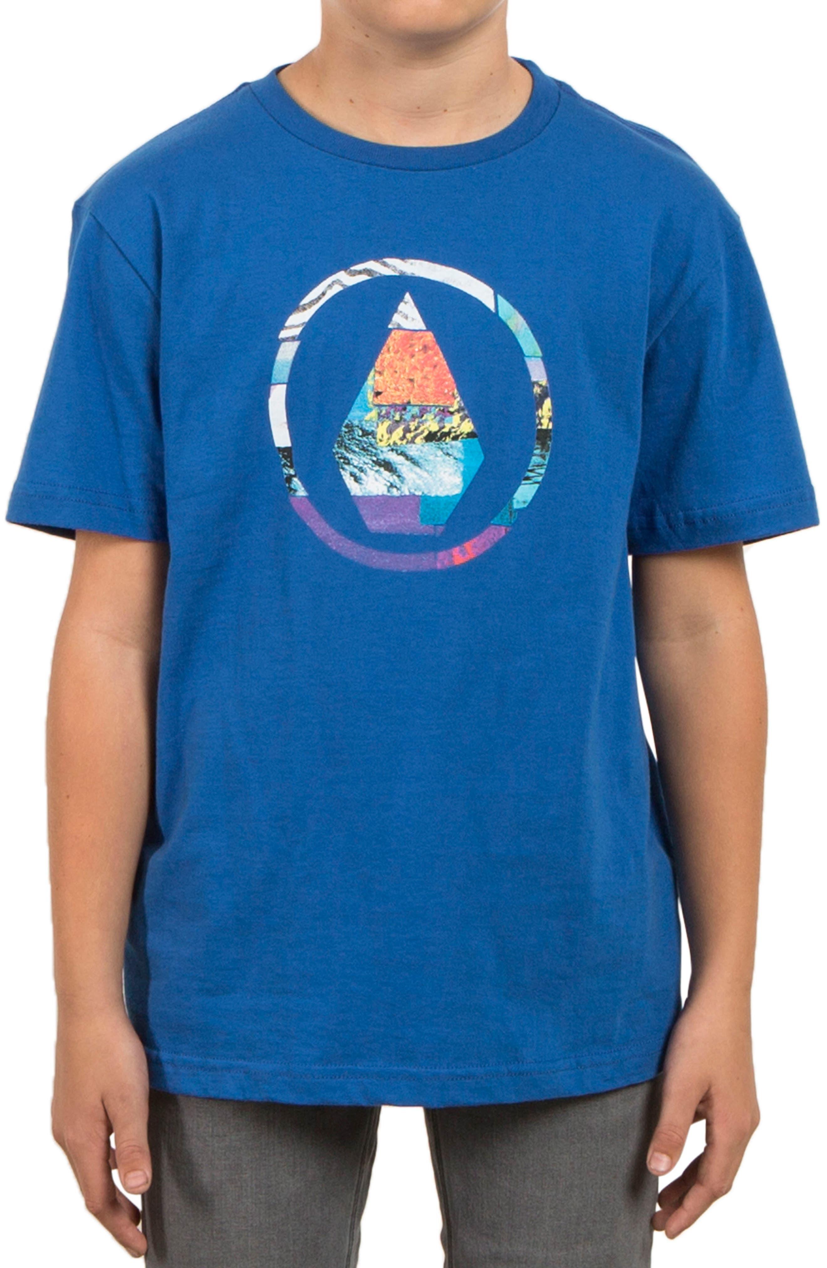 Main Image - Volcom Magnetic Stone Graphic T-Shirt (Big Boys)