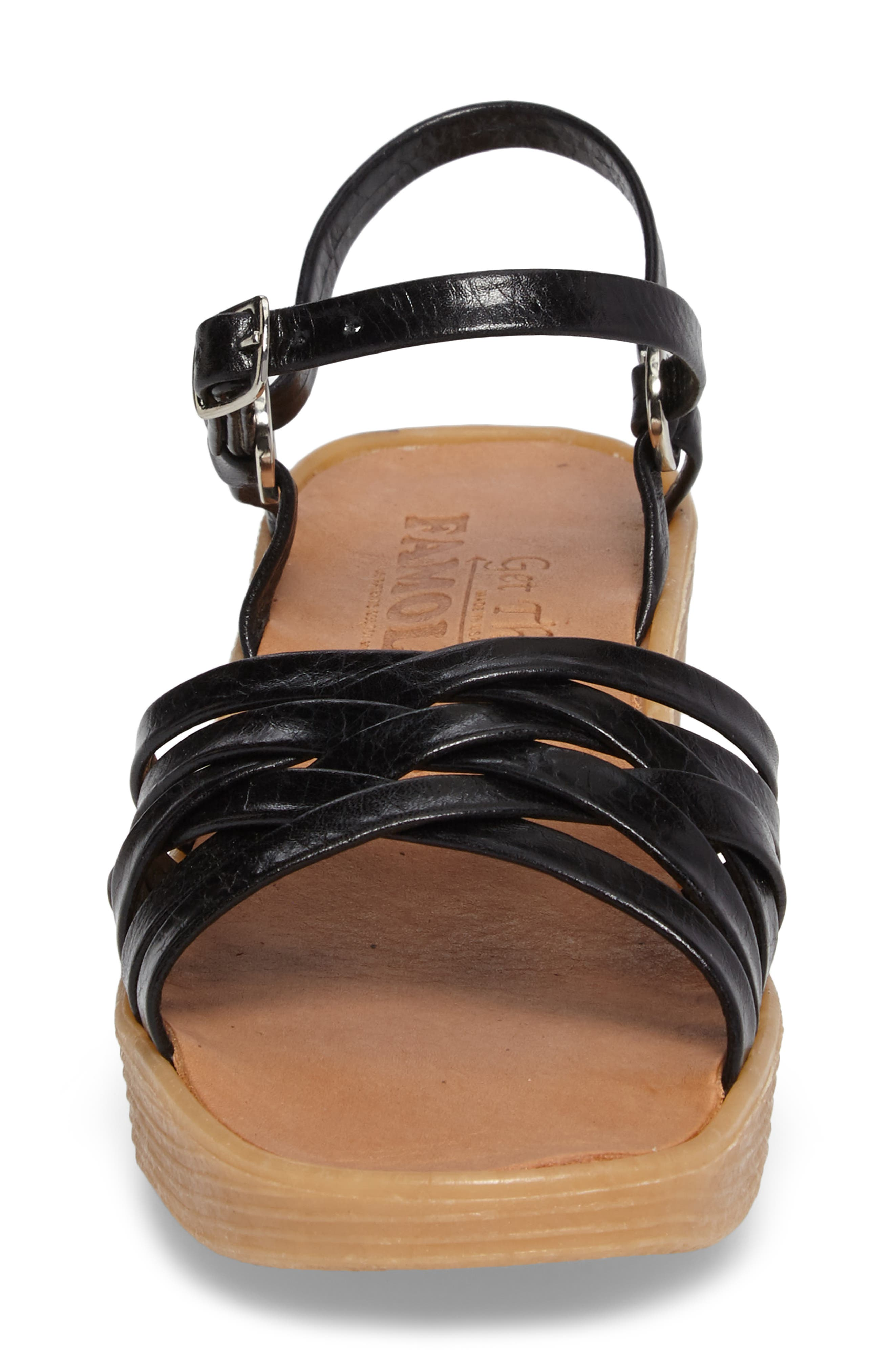 Alternate Image 4  - Famolare Strappy Camper Sandal (Women)