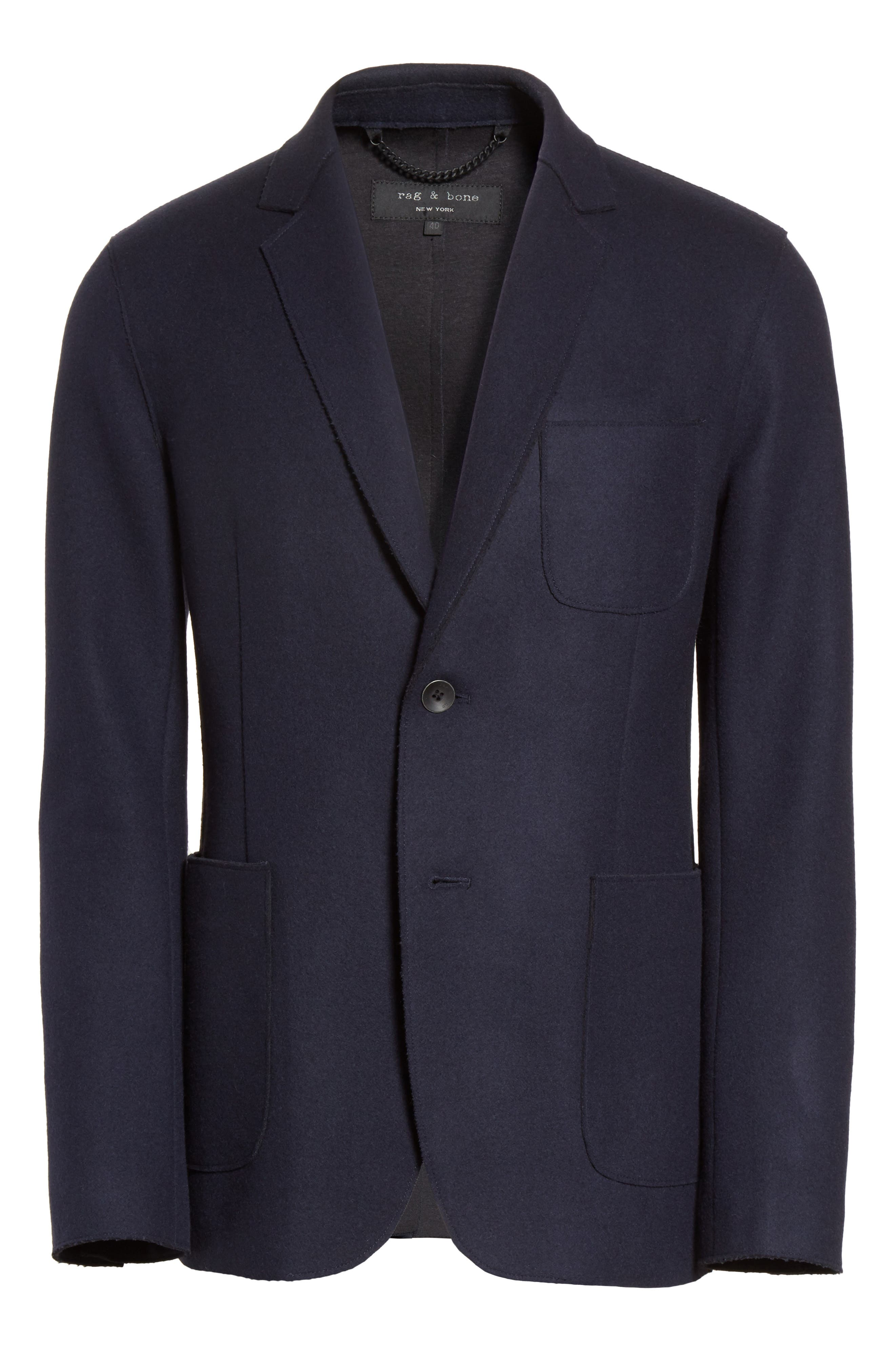Alternate Image 6  - rag & bone Woodall Wool Blend Blazer
