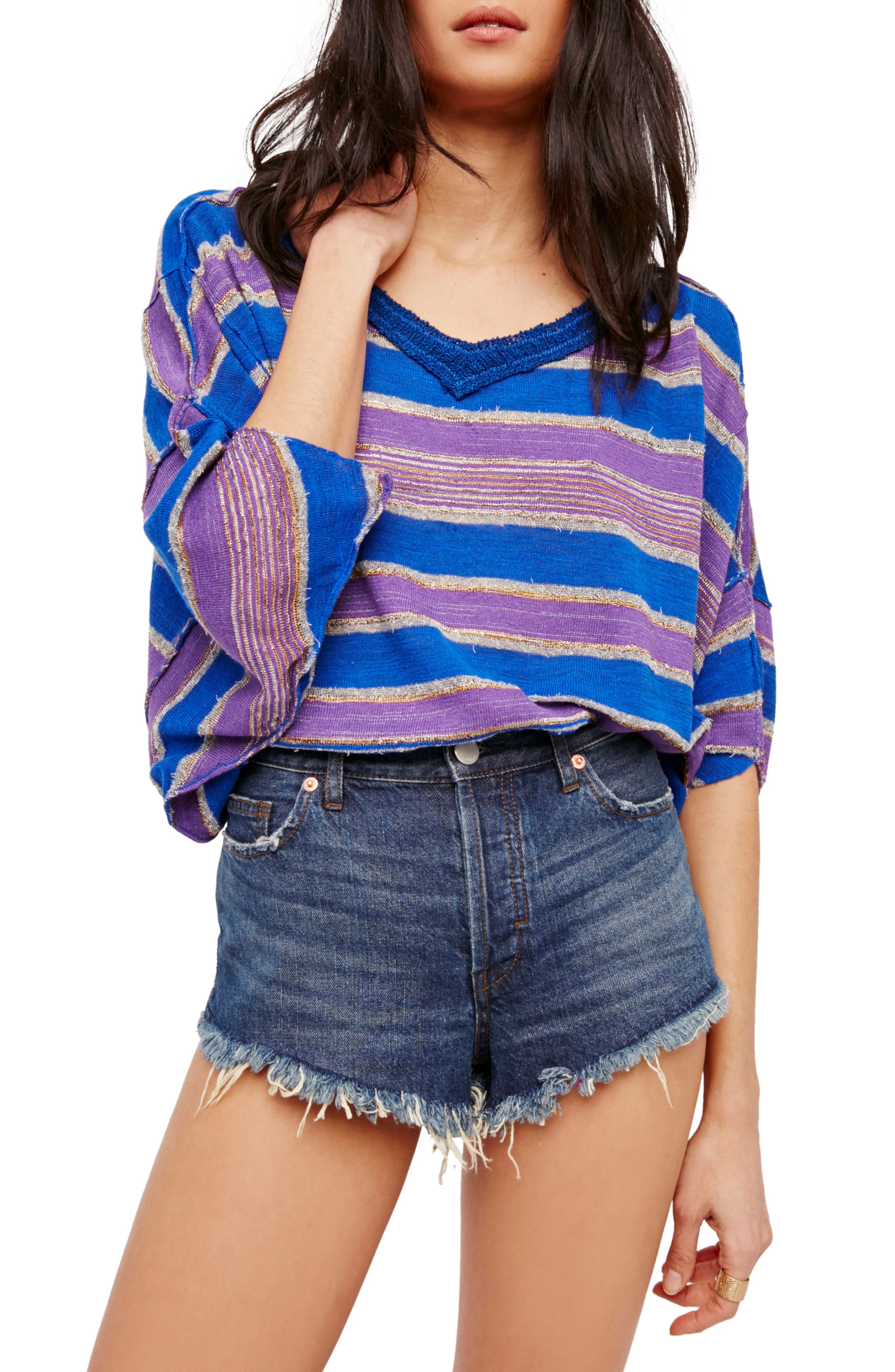 Main Image - Free People Love Me Too Dolman Sweater