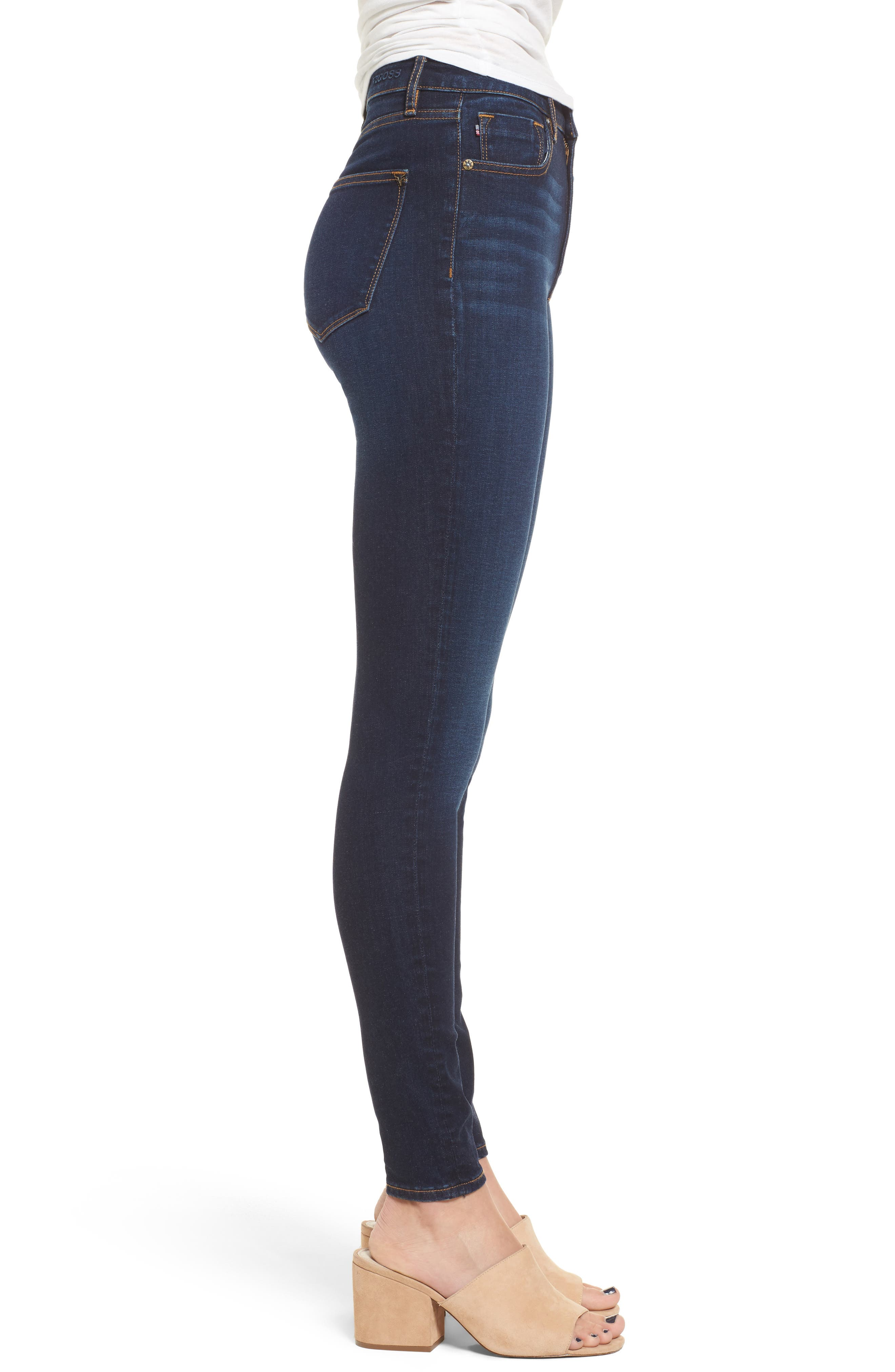 Alternate Image 3  - Vigoss Rebel High Rise Skinny Jeans