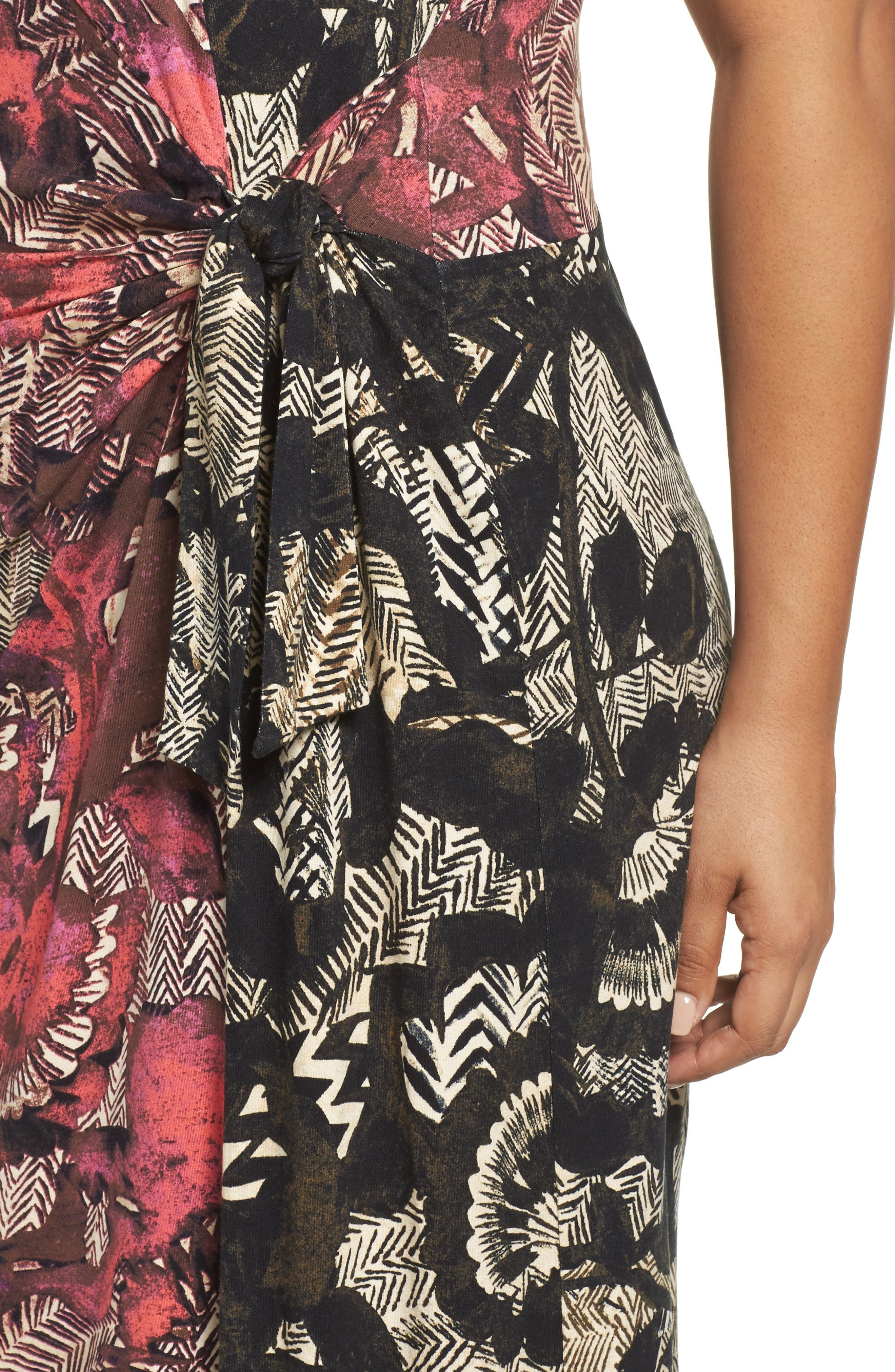 Alternate Image 4  - NIC+ZOE Etched Floral Dress (Plus Size)