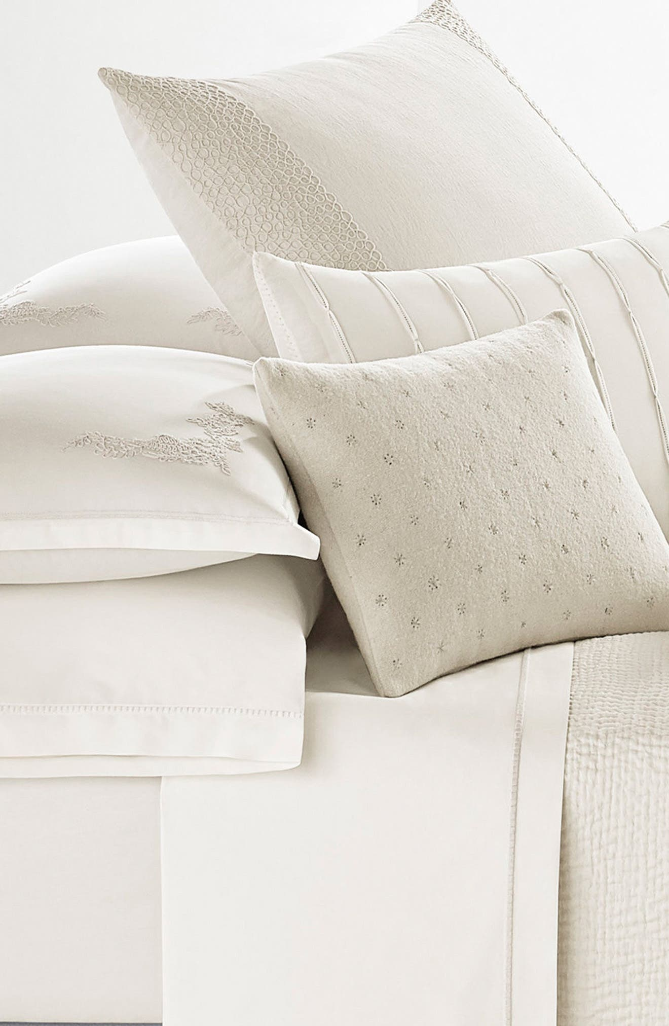 Alternate Image 2  - Vera Wang Passementerie Breakfast Linen Accent Pillow