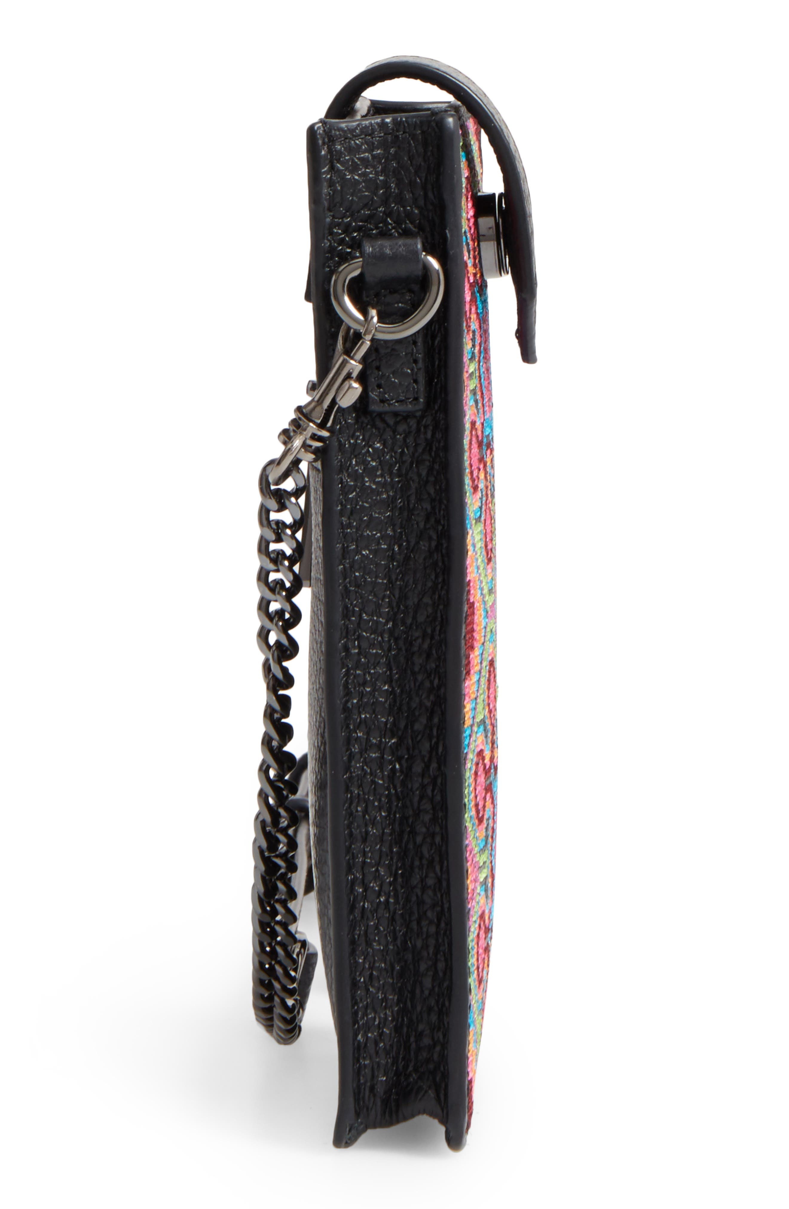 Alternate Image 5  - Botkier Leather Phone Crossbody Case (Nordstrom Exclusive)