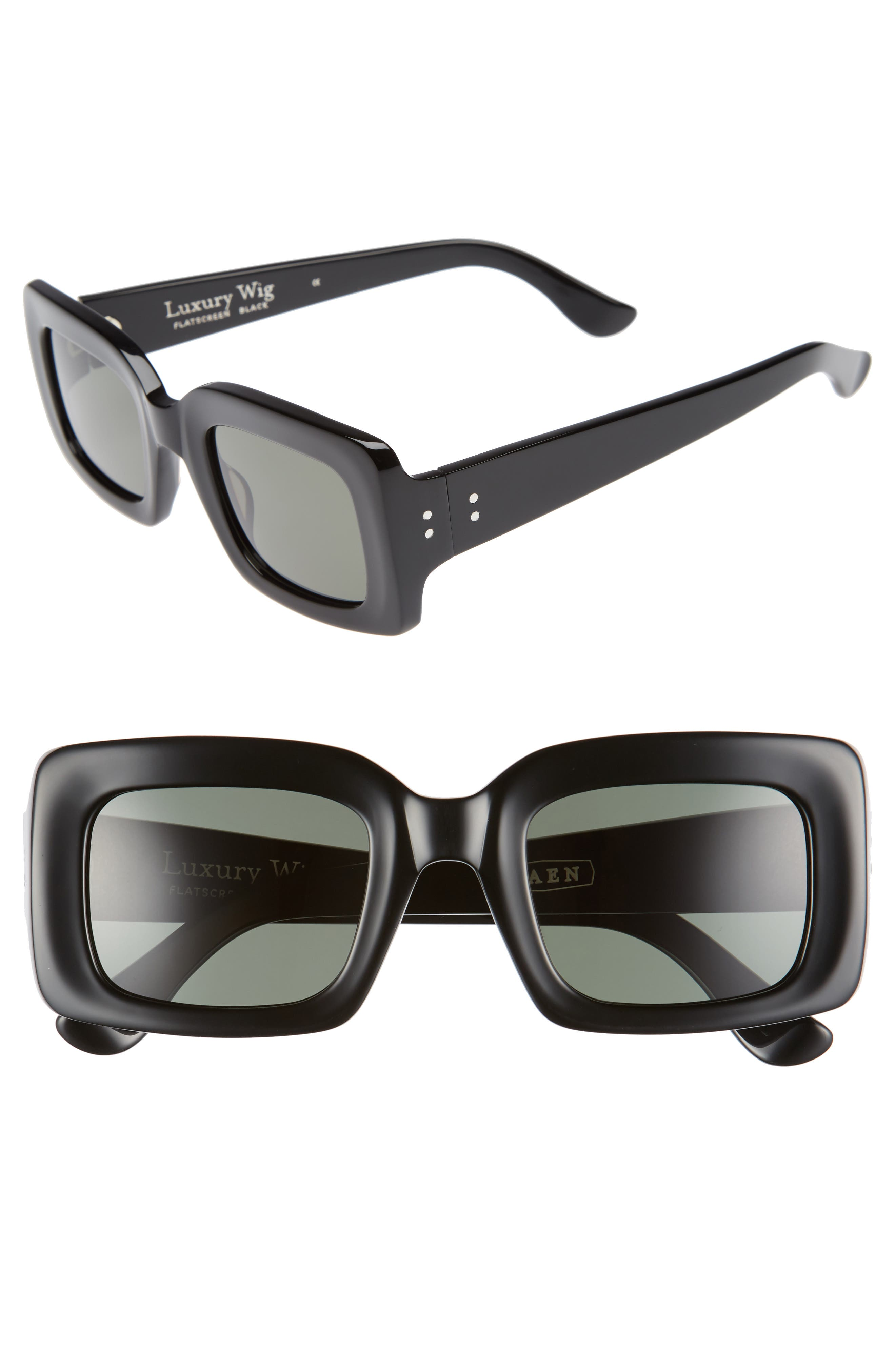 RAEN x Alex Knost Luxury Wig Flatscreen 49mm Square Sunglasses