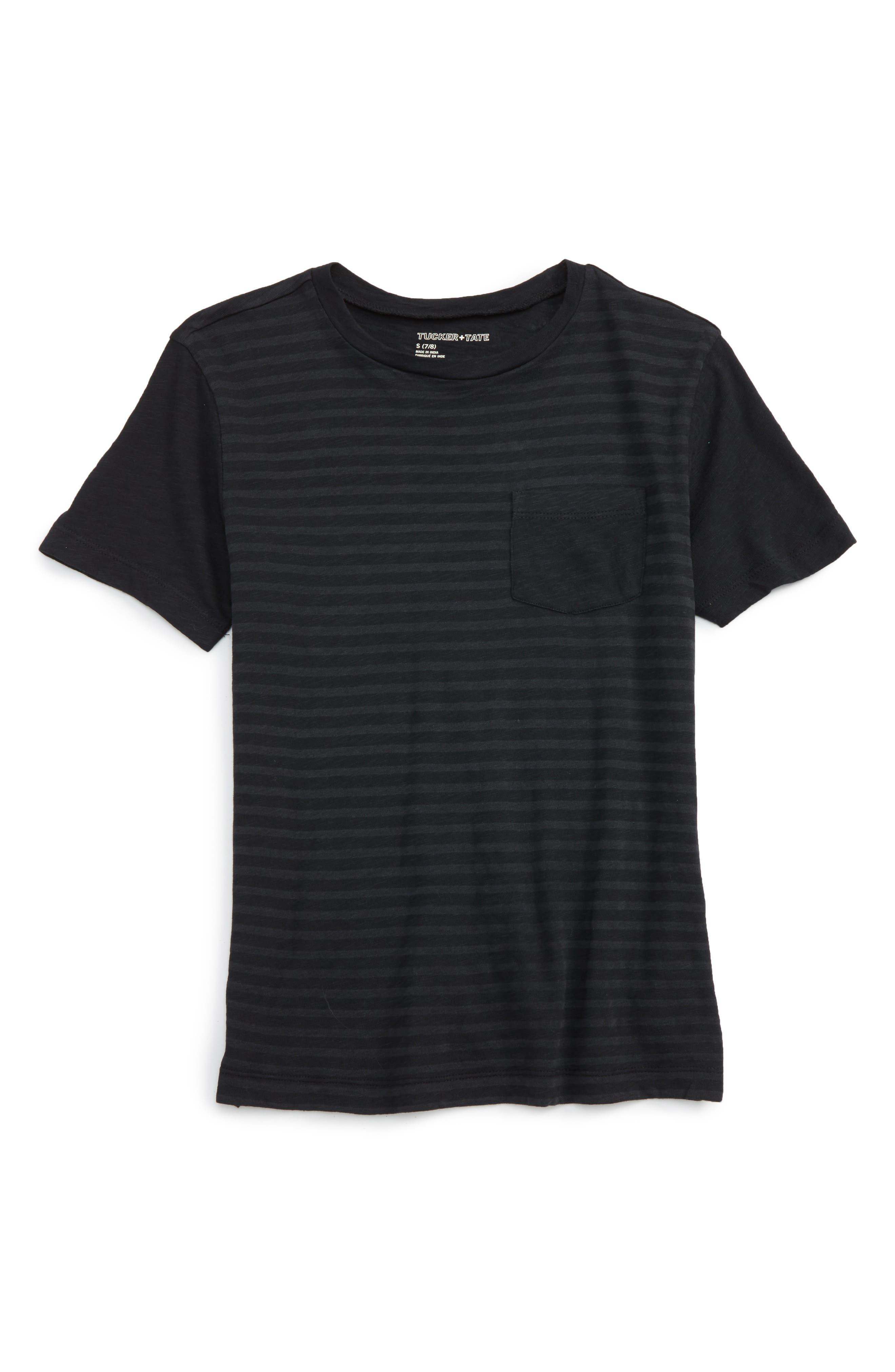 Tucker + Tate Burnout Stripe T-Shirt (Big Boys)