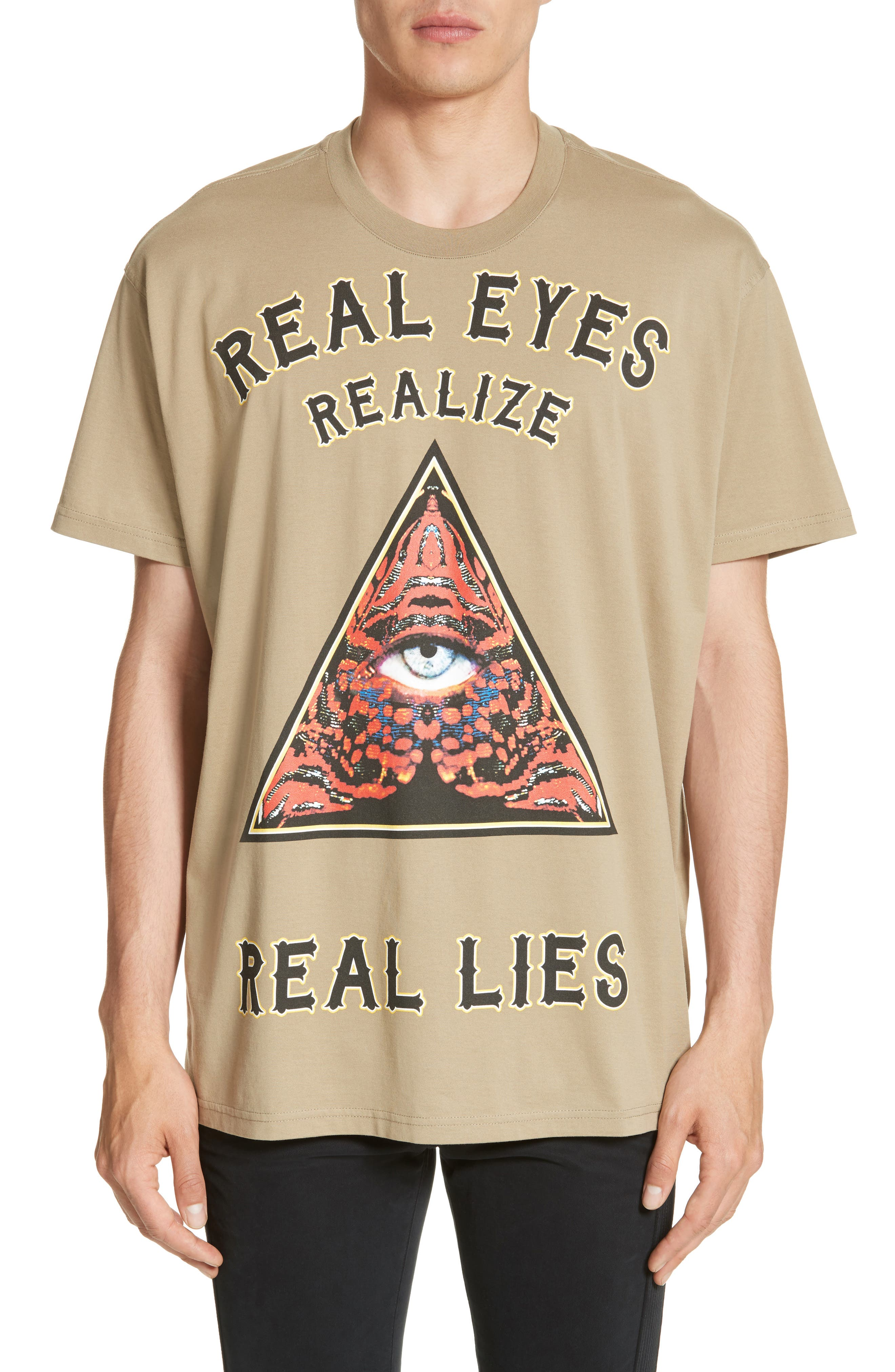 Extra Trim Fit Realize Graphic T-Shirt,                         Main,                         color, Military