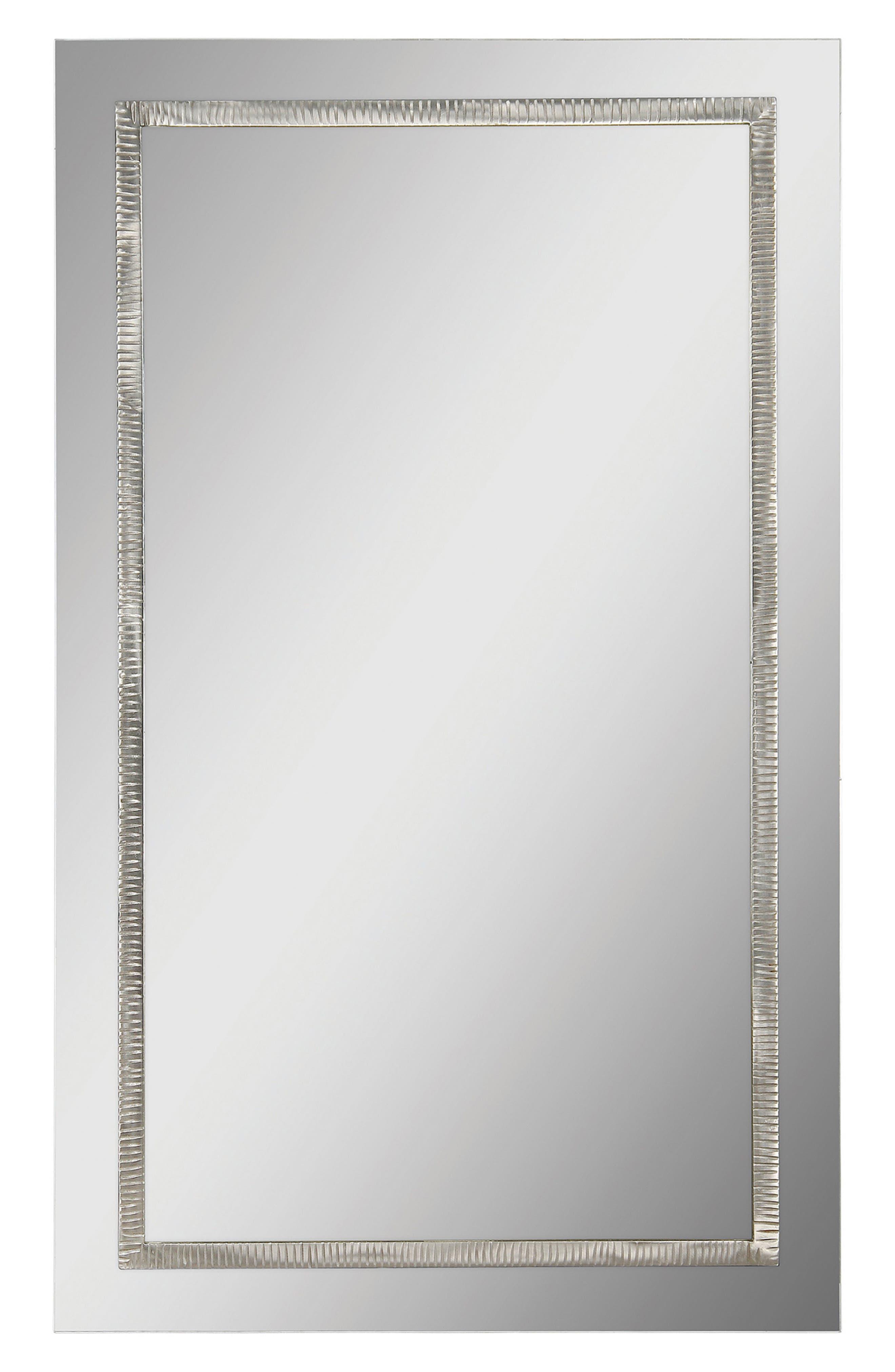 Stanton Mirror,                         Main,                         color, Satin Nickel