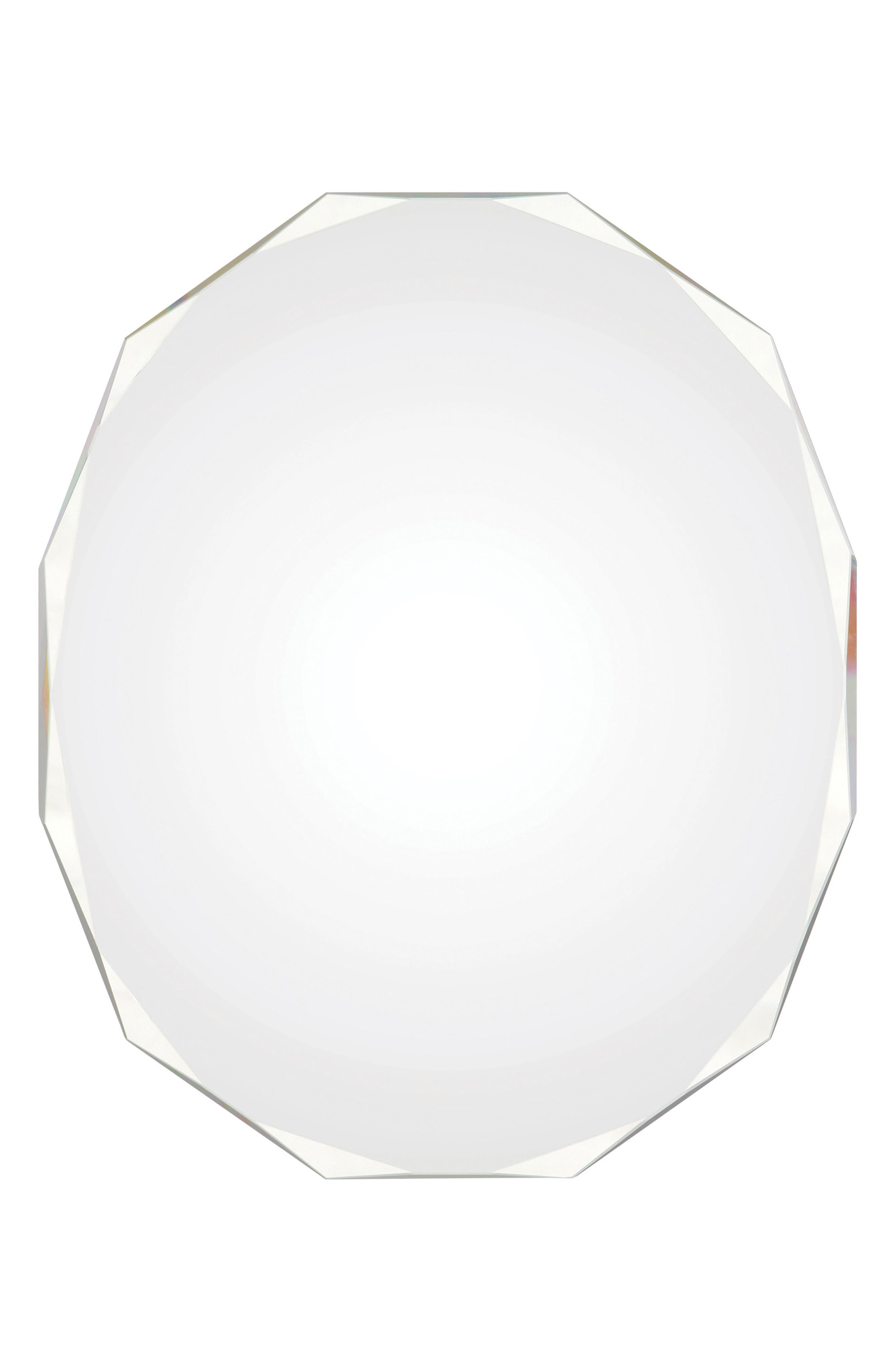 Astor Round Mirror,                             Main thumbnail 1, color,                             Clear