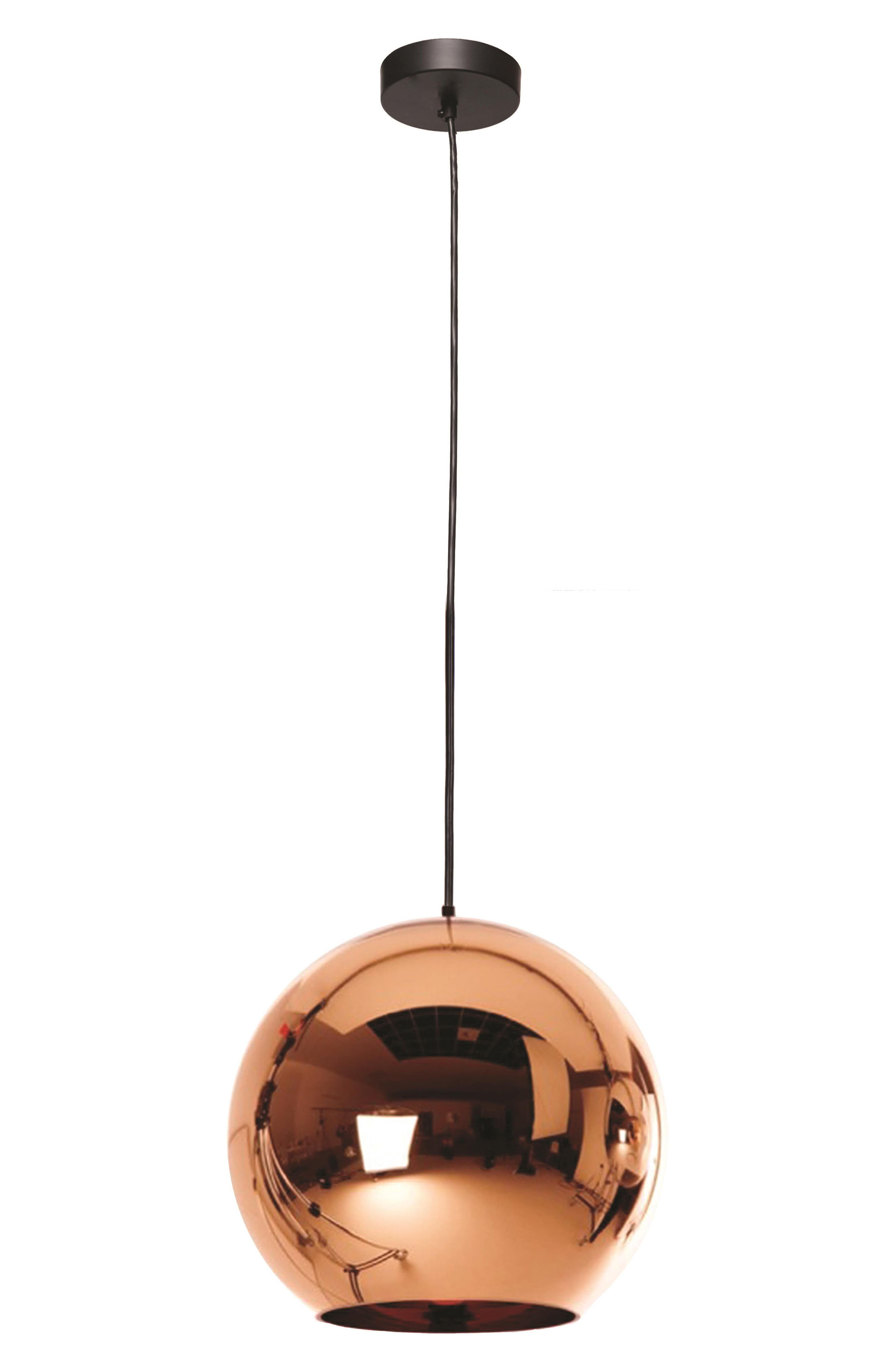 Copper Ceiling Light Fixture,                         Main,                         color, Copper