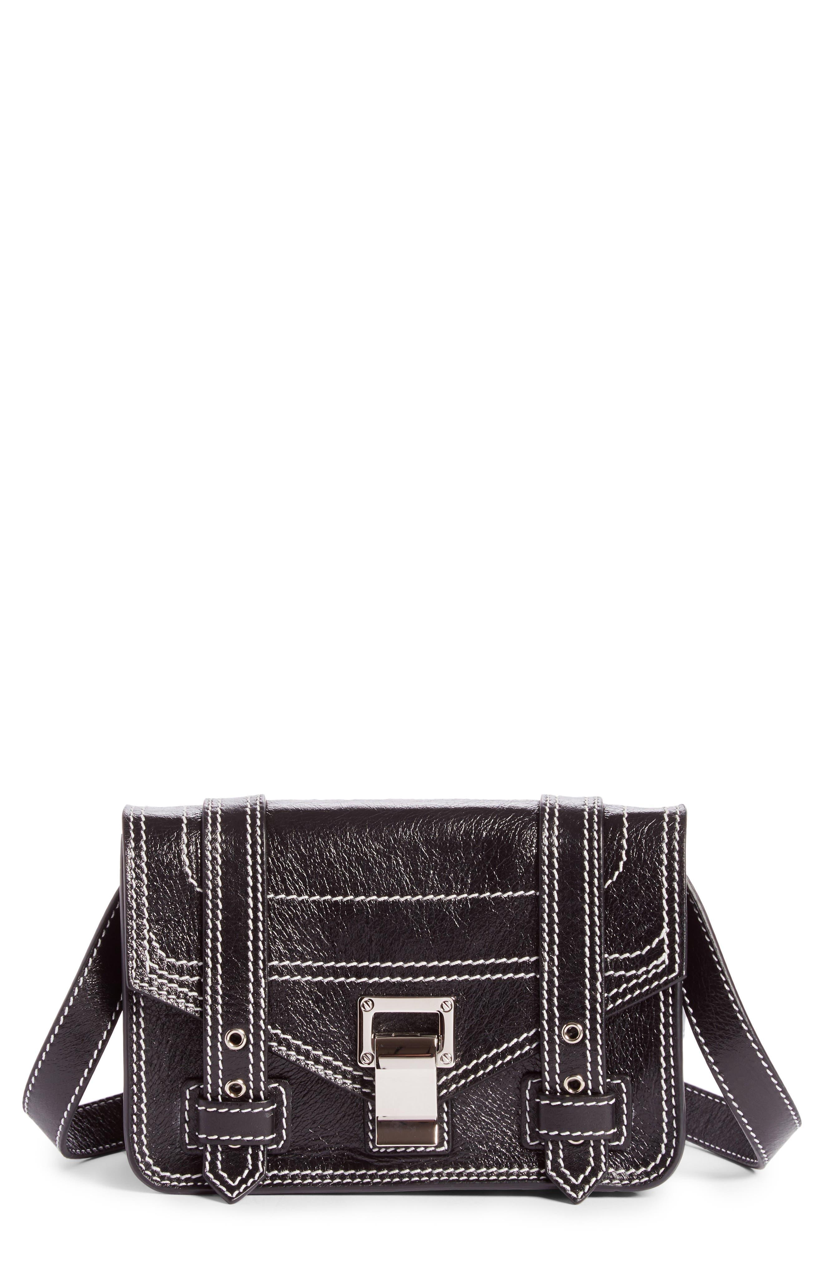 Alternate Image 1 Selected - Proenza Schouler Mini PS1 Leather Crossbody Bag
