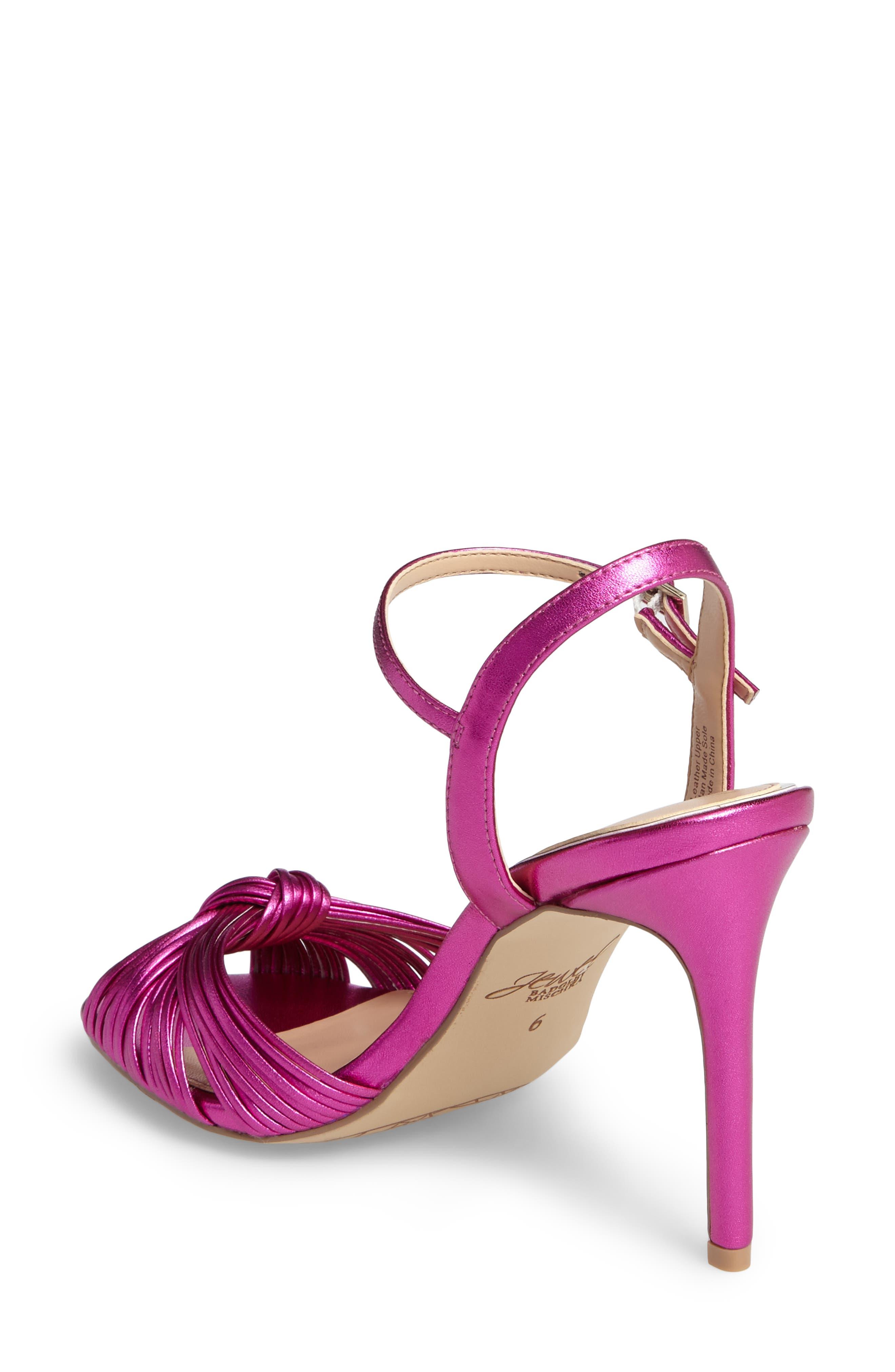 Alternate Image 2  - Jewel Badgley Mischka Lady Ankle Strap Sandal (Women)