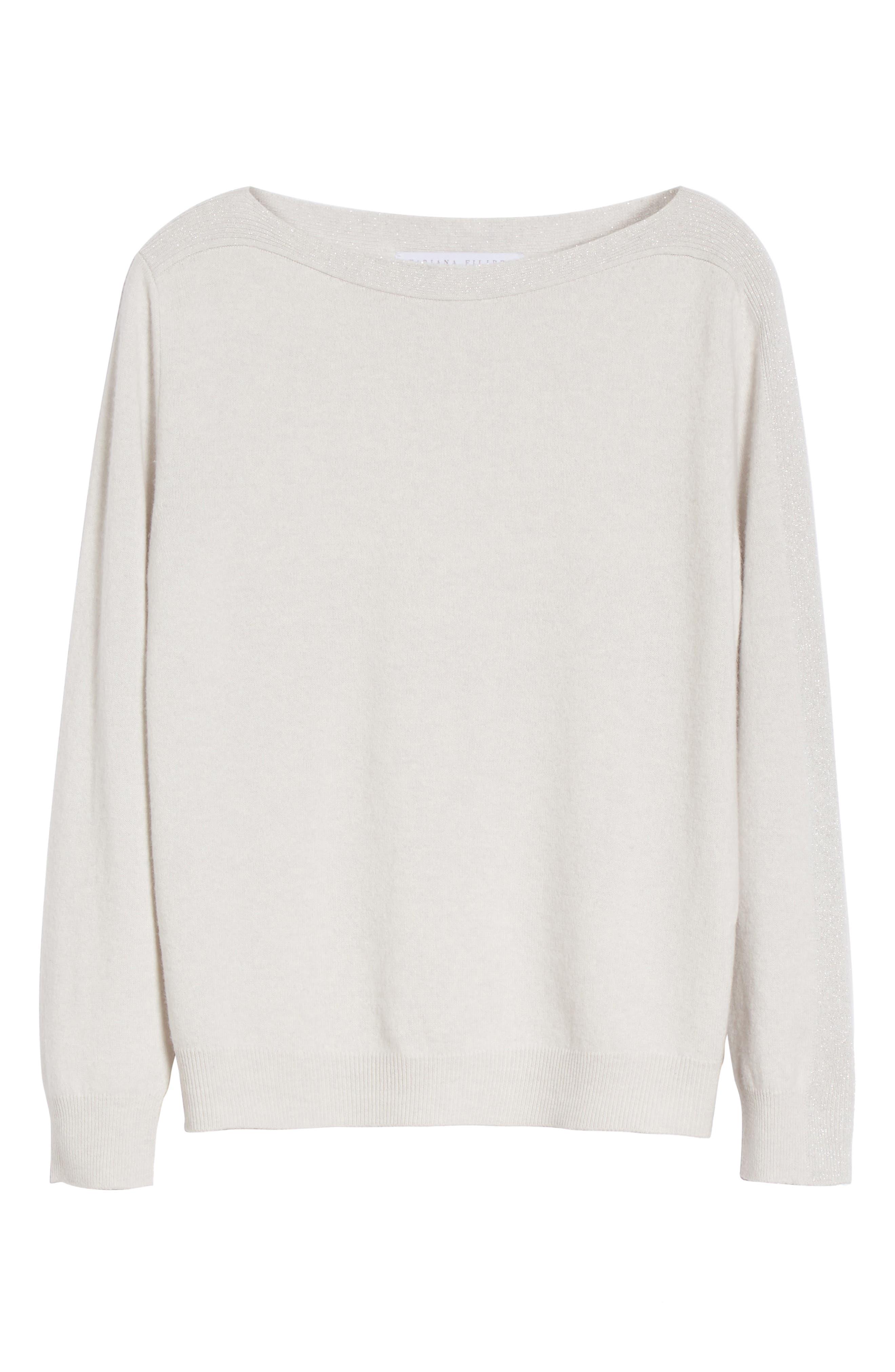 Alternate Image 4  - Fabiana Filippi Wool, Silk & Cashmere Sweater
