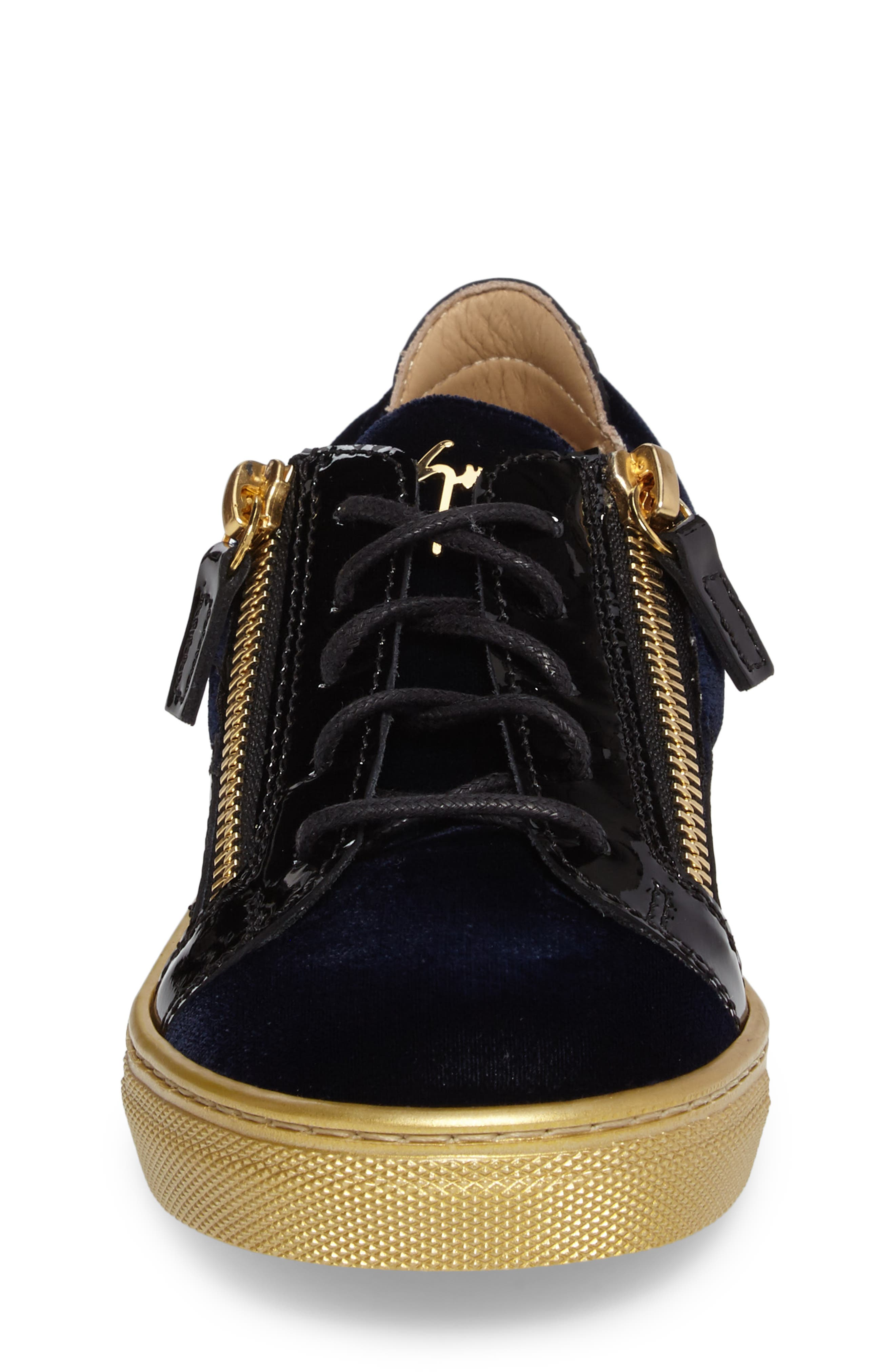 Alternate Image 4  - Giuseppe Zanotti London Sneaker (Toddler & Little Kid)