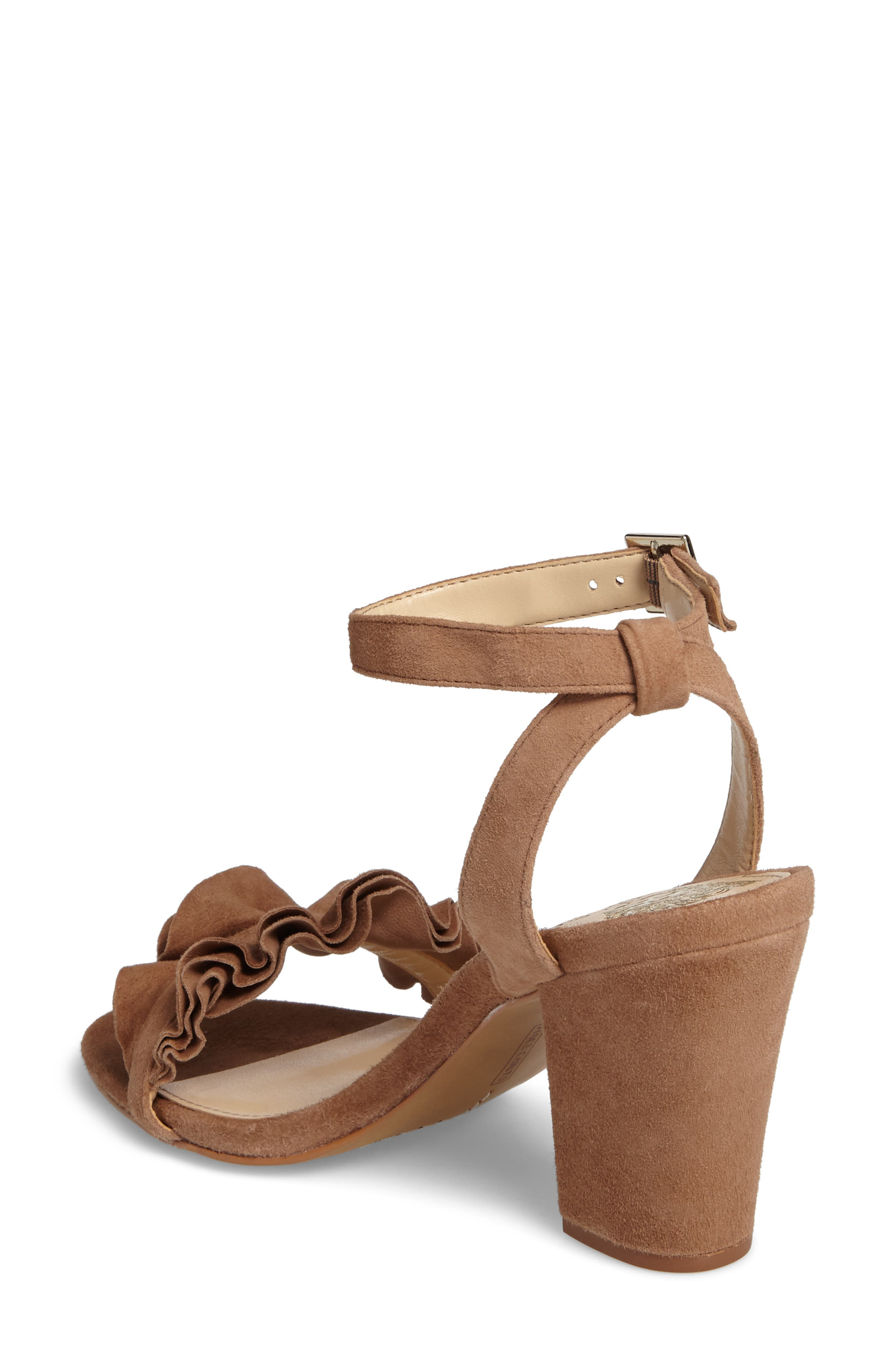 Vinta Sandal,                             Alternate thumbnail 2, color,                             Amendoa Suede