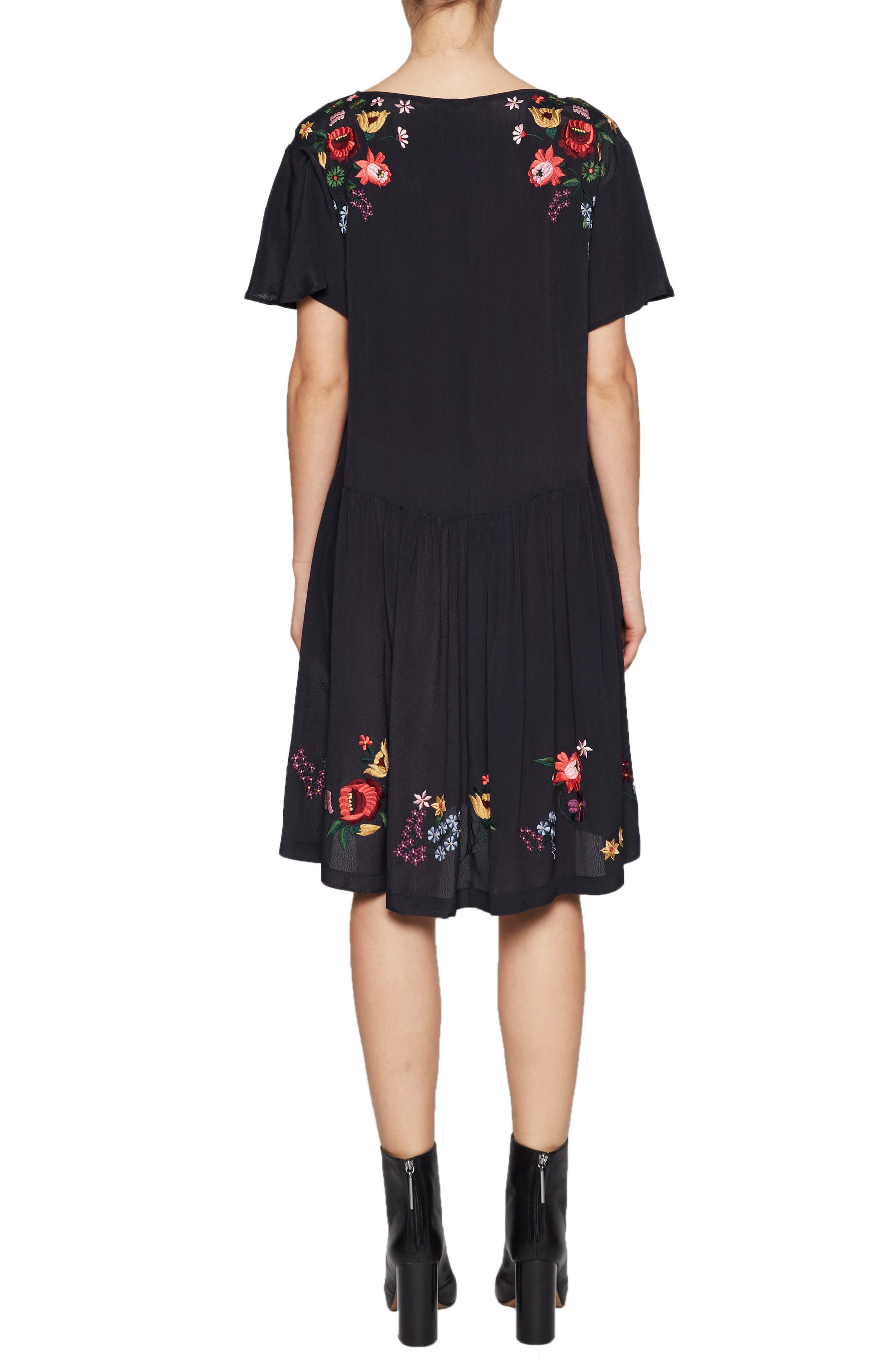 Alternate Image 2  - French Connection Alice Embroidered Dress