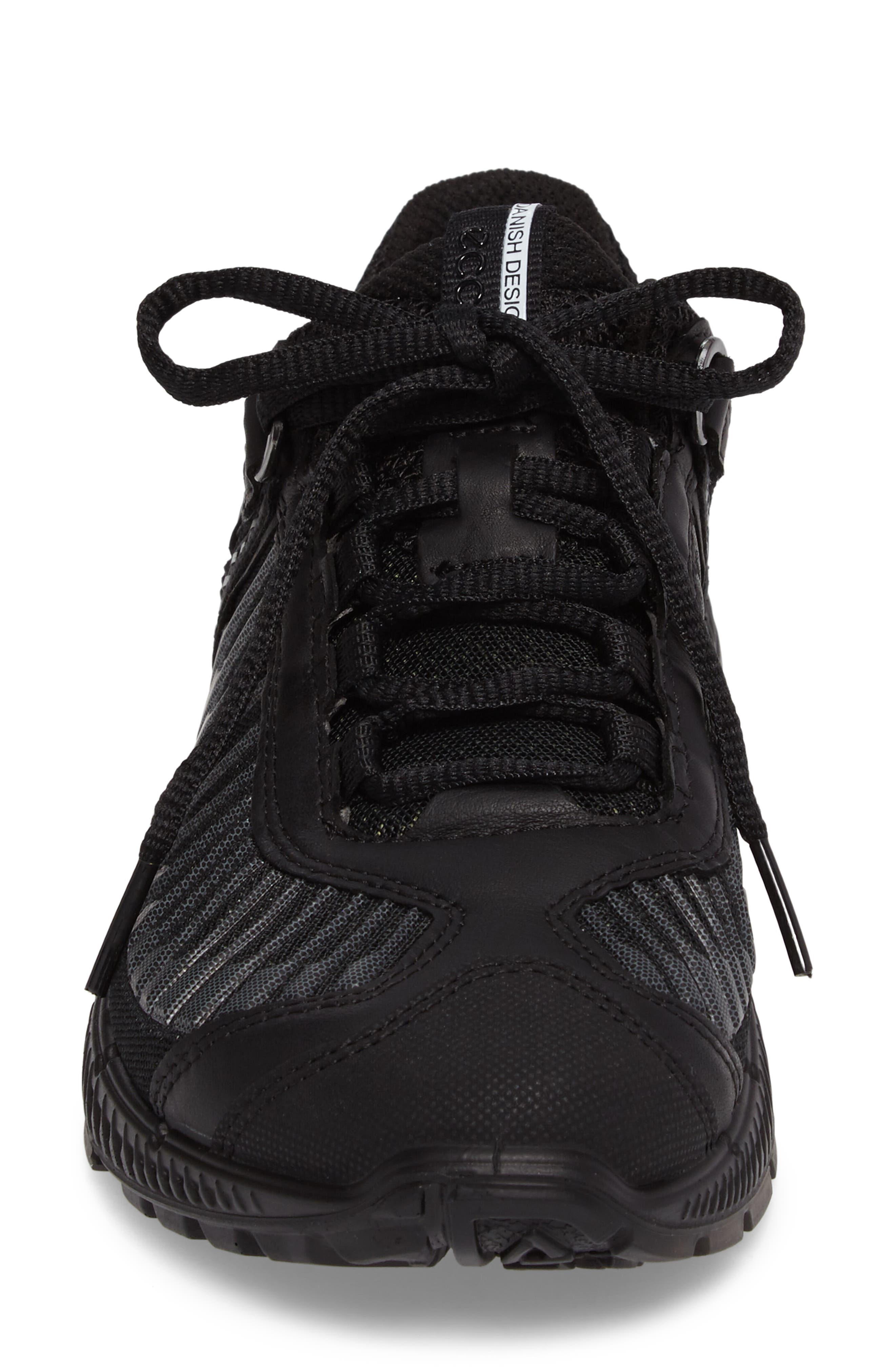 Intrinsic TR Running Shoe,                             Alternate thumbnail 4, color,                             Black Leather