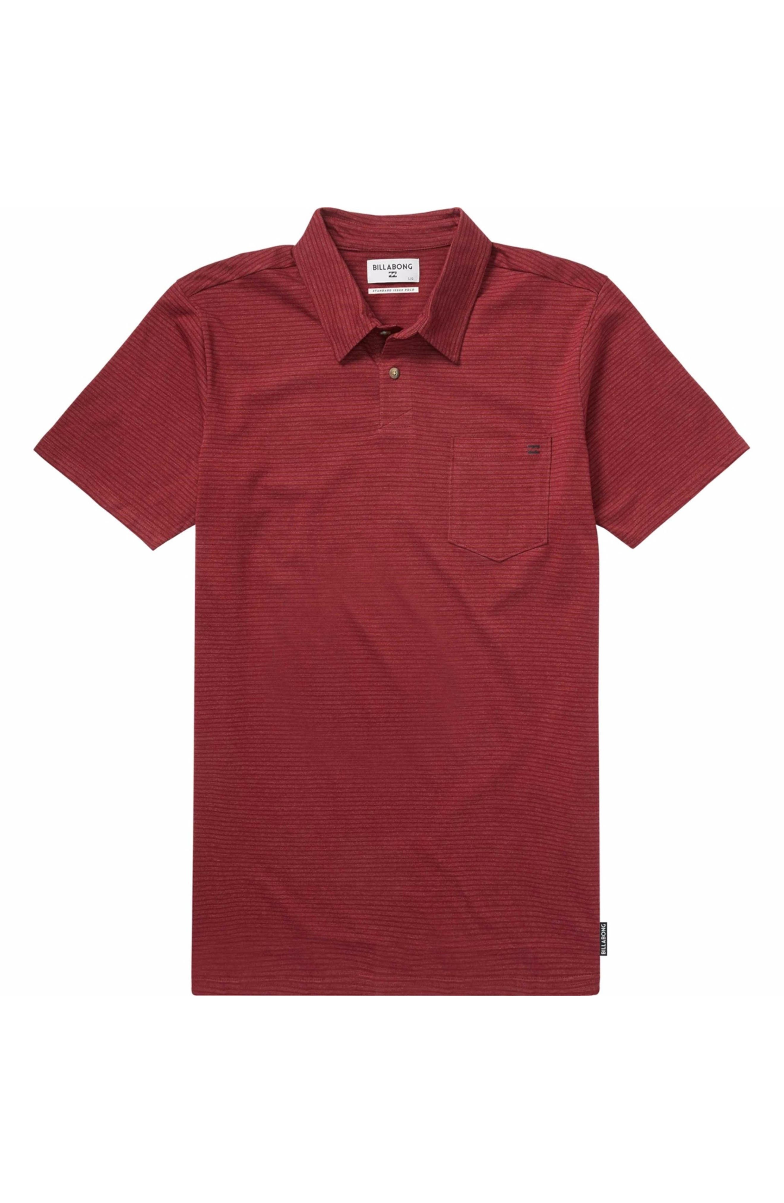 Main Image - Billabong Standard Issue Jersey Polo (Big Boys)