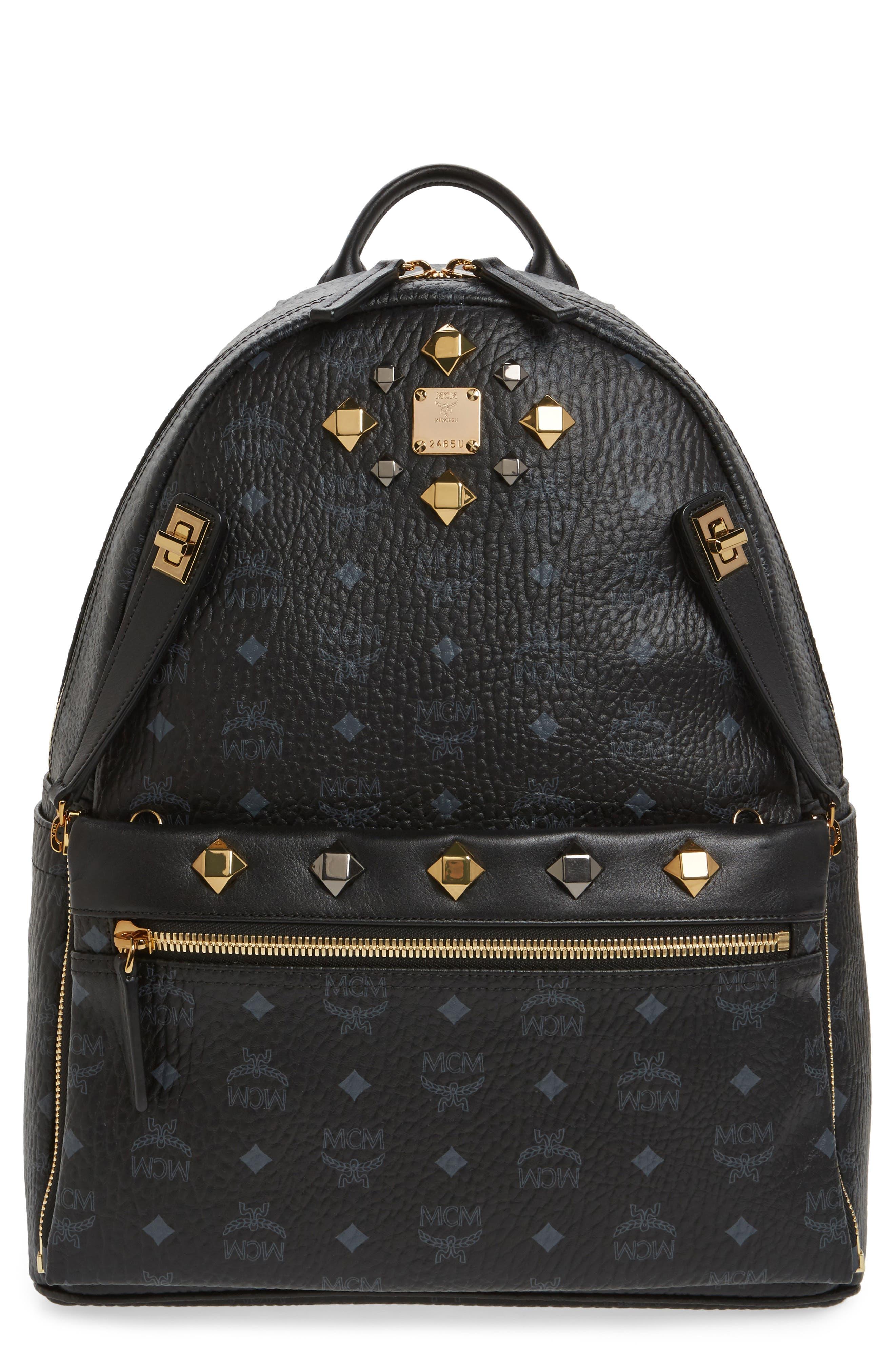 Alternate Image 1 Selected - MCM Medium Dual Stark Backpack