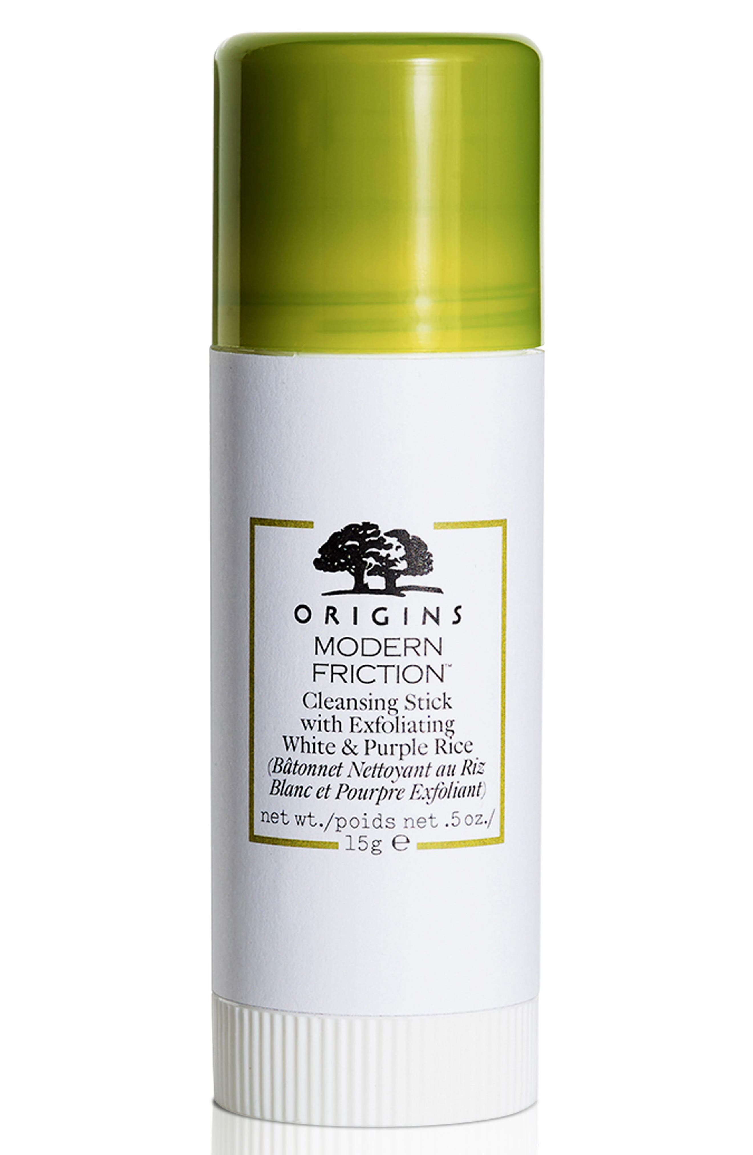 Origins Modern Friction™ Cleansing Stick with Exfoliating White & Purple Rice