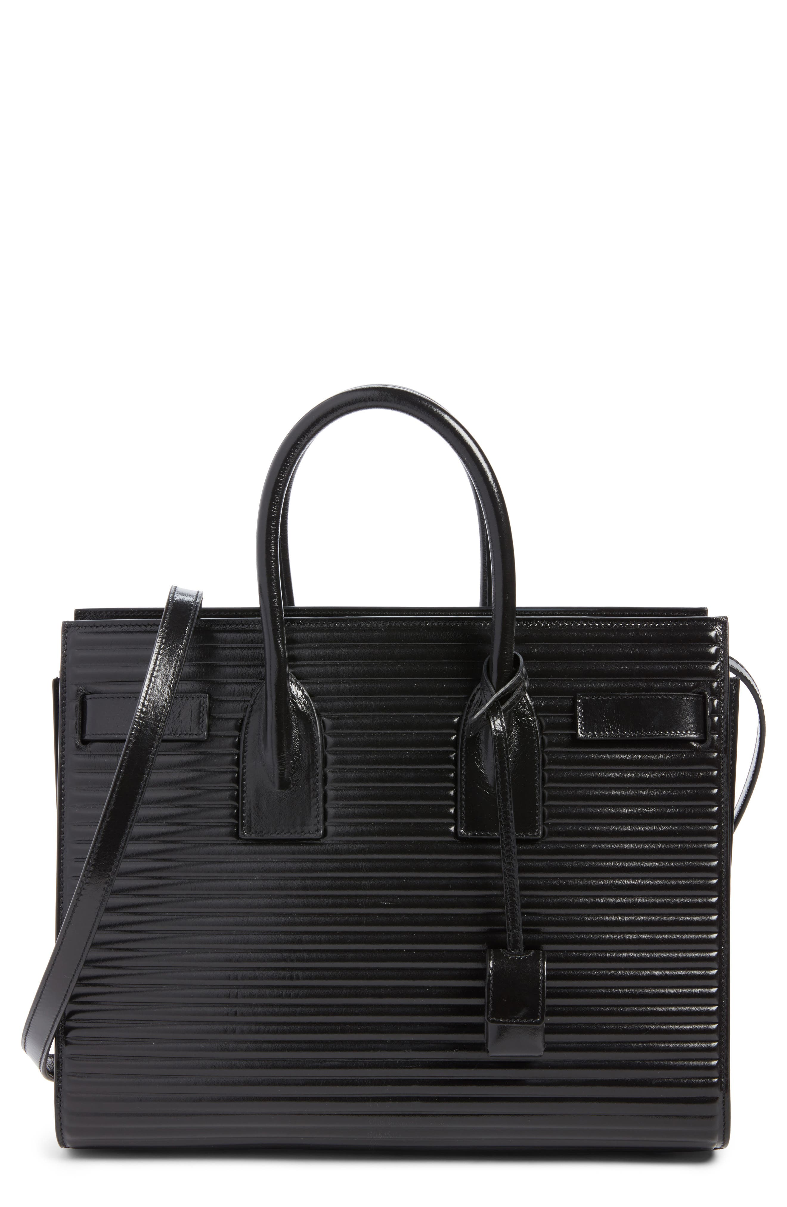 Alternate Image 1 Selected - Saint Laurent Small Sac du Jour Matelassé Leather Tote