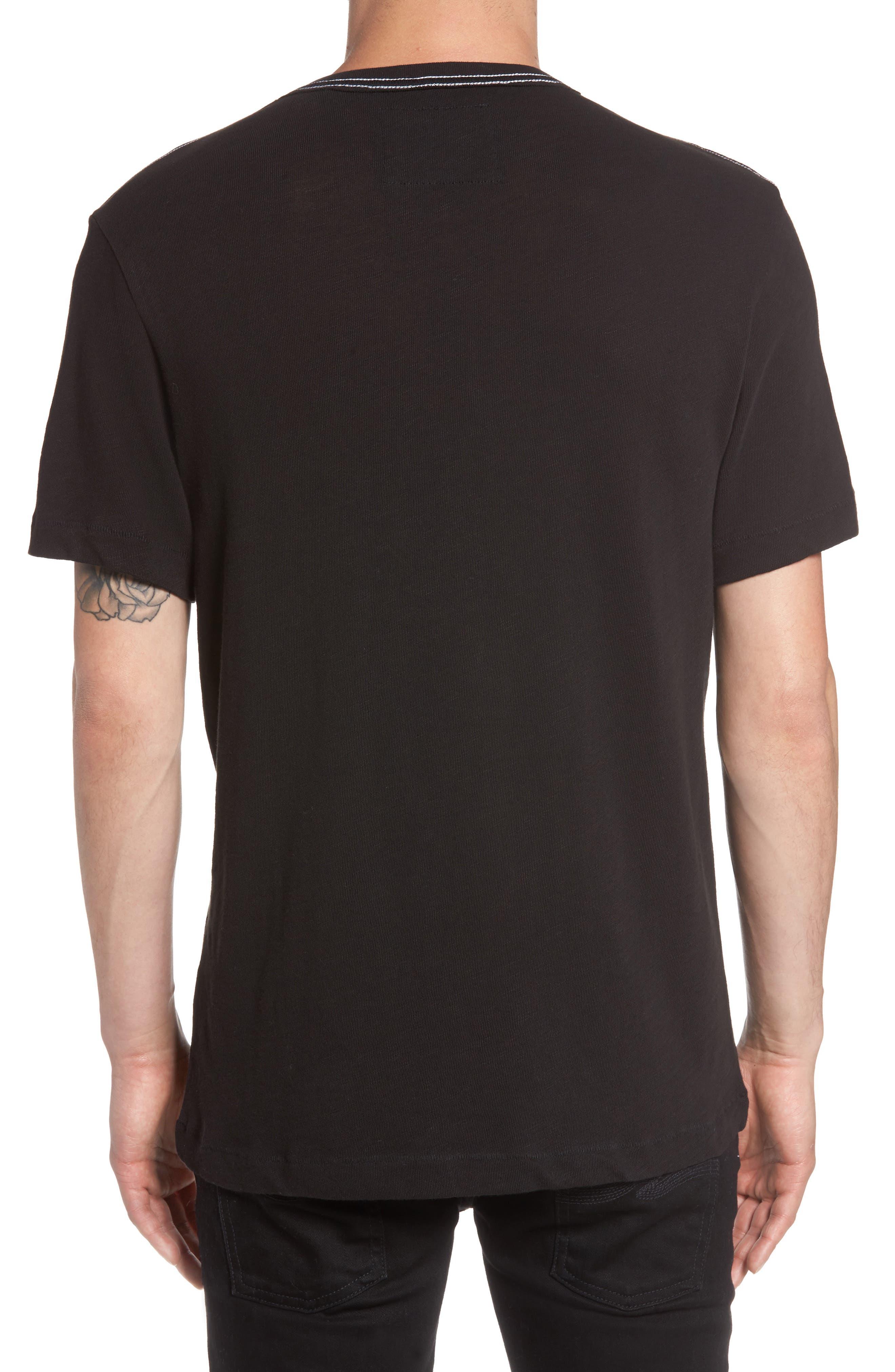 Denim Goods T-Shirt,                             Alternate thumbnail 2, color,                             Black