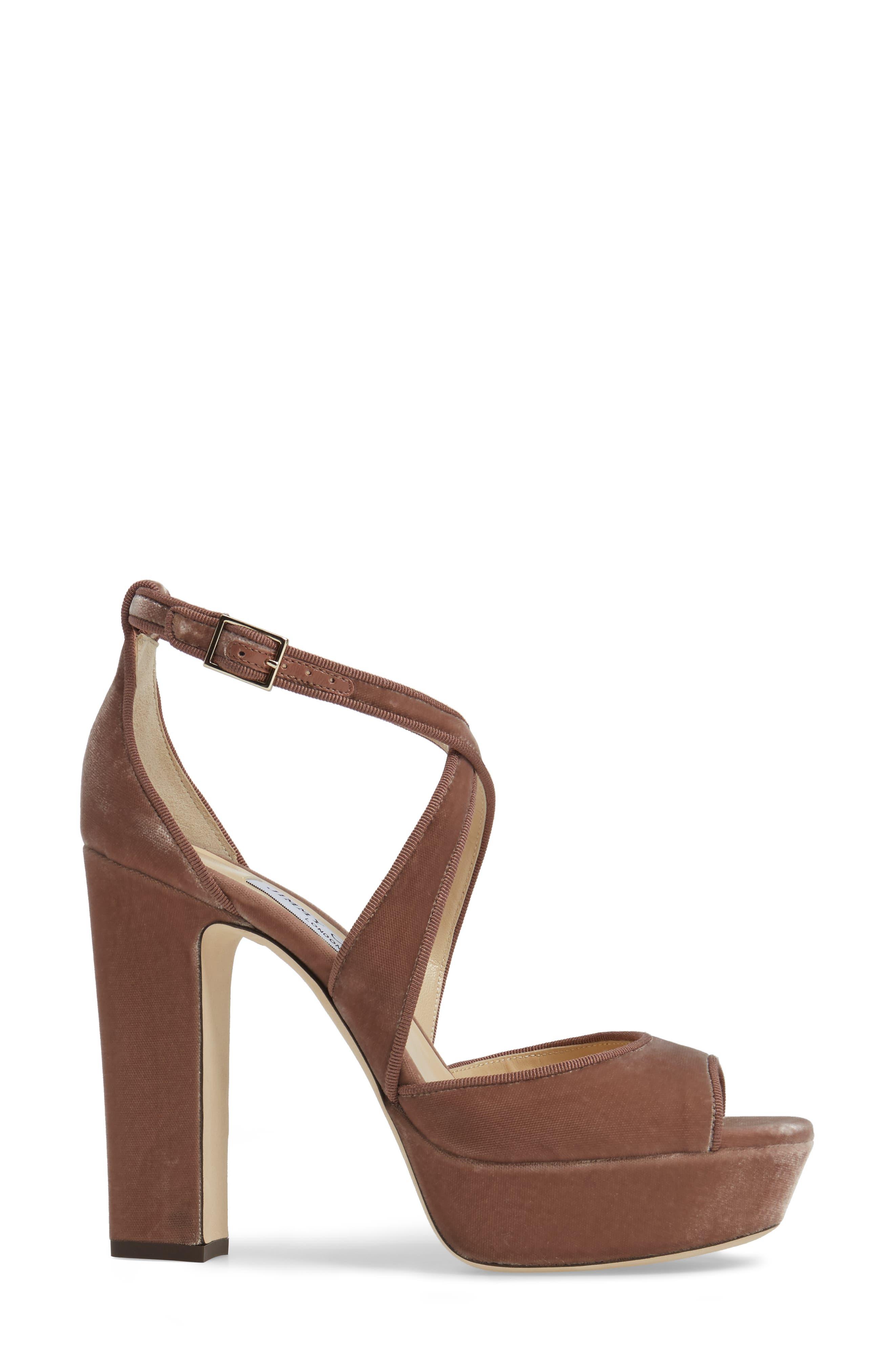 Alternate Image 3  - Jimmy Choo April Platform Sandal (Women)