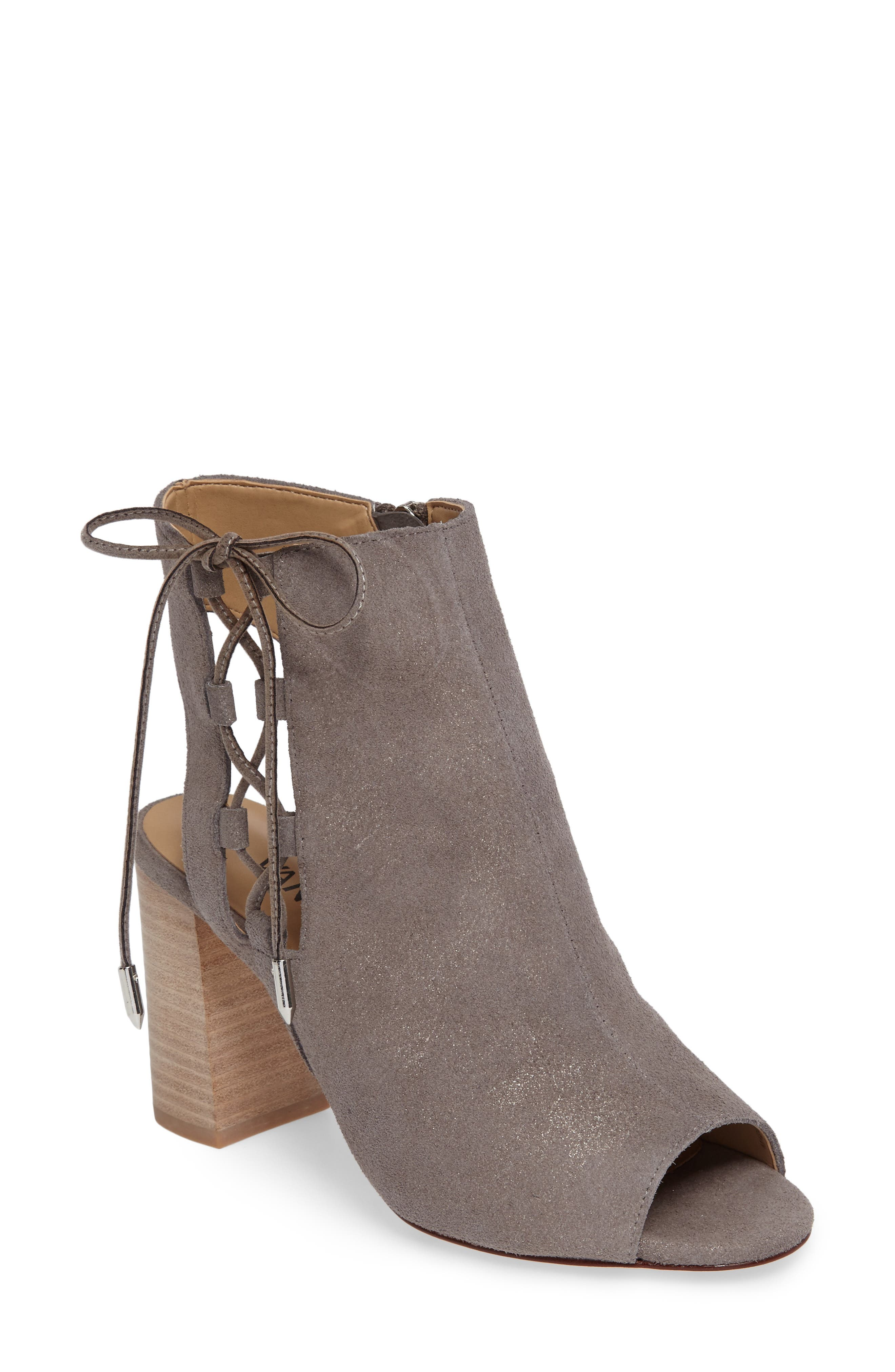 Better Block Heel Sandal,                             Main thumbnail 1, color,                             Taupe Rory Suede