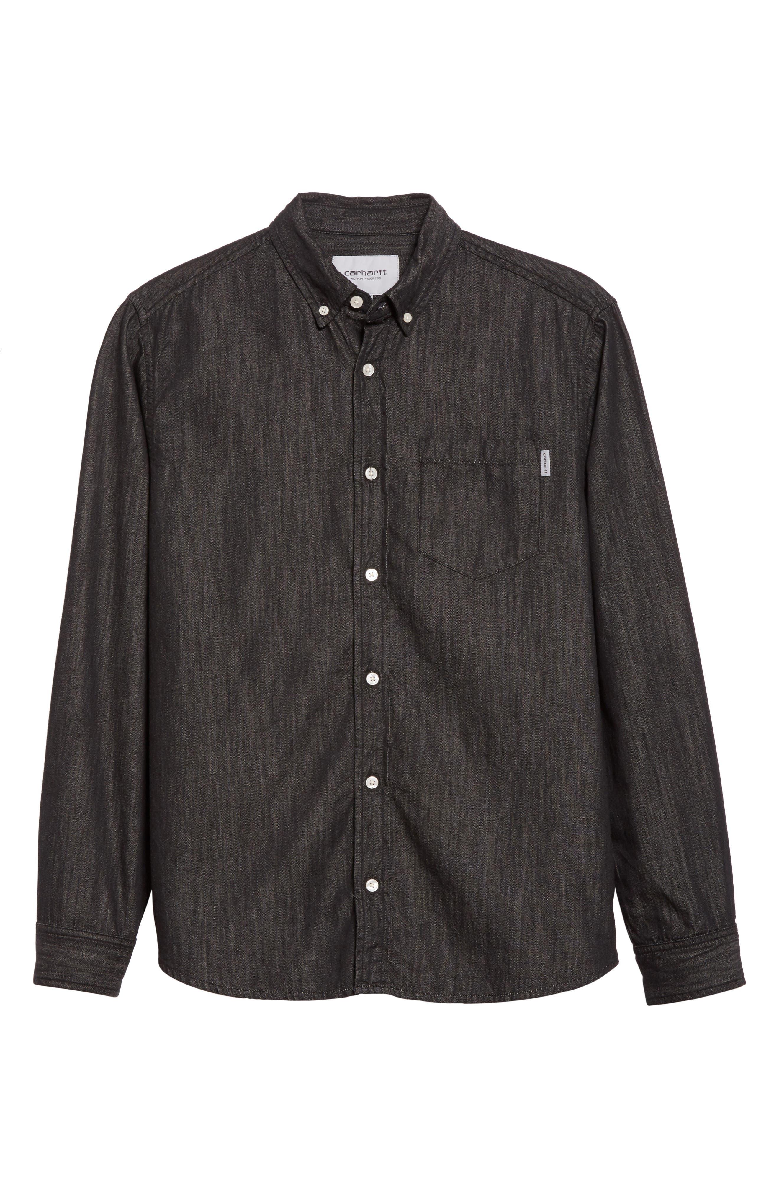 Alternate Image 6  - Carhartt Work in Progress Nashville Denim Shirt