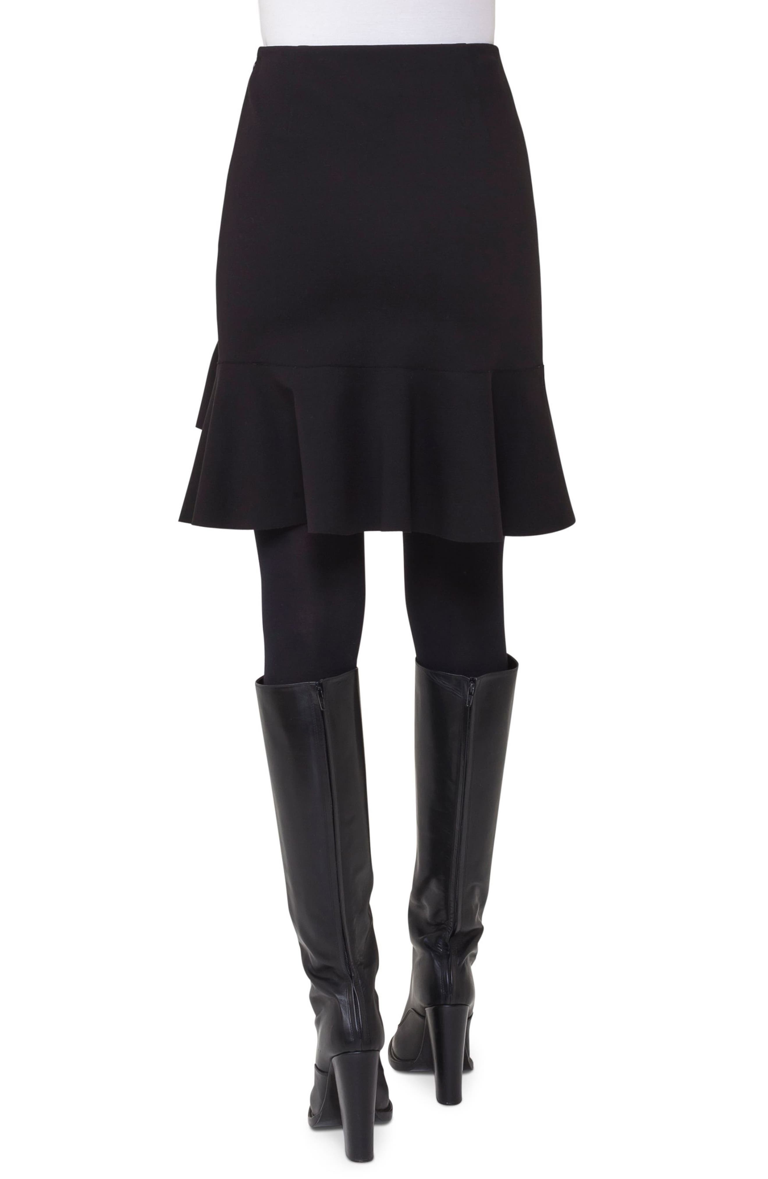 Alternate Image 2  - Akris punto Ruffle Hem Skirt