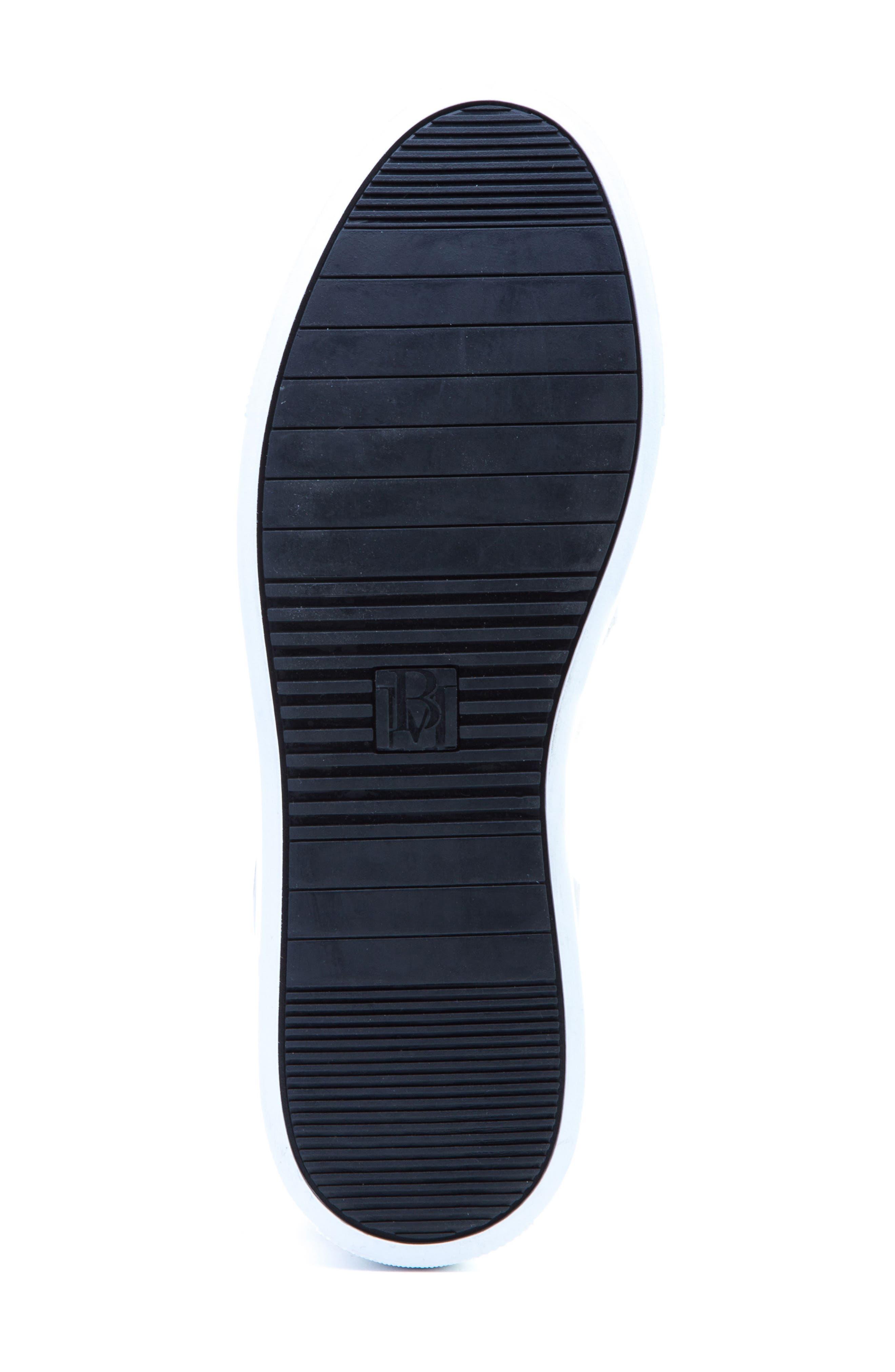 Grant Sneaker,                             Alternate thumbnail 5, color,                             White Leather