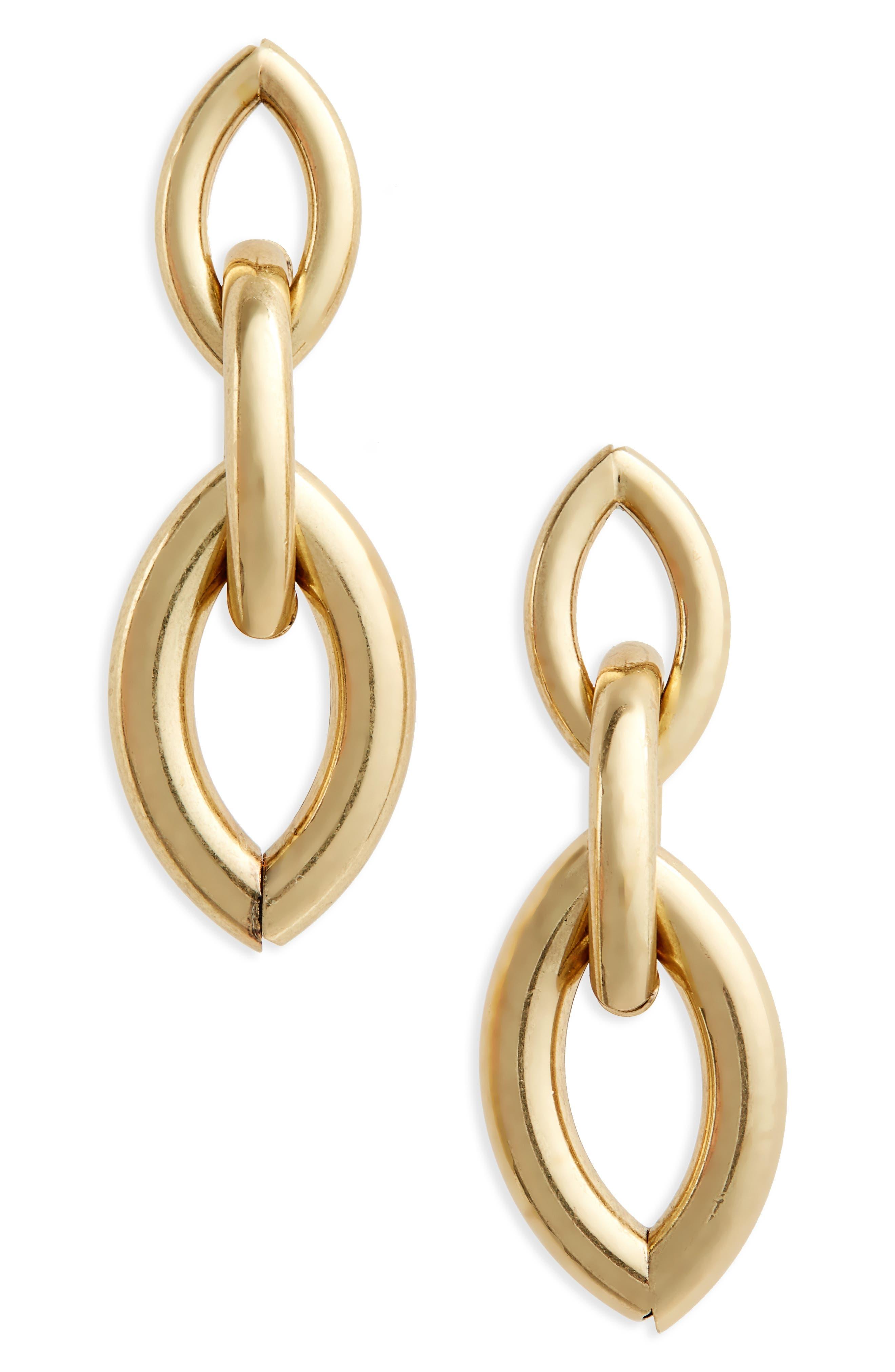 Sloane Drop Earrings,                         Main,                         color, Gold