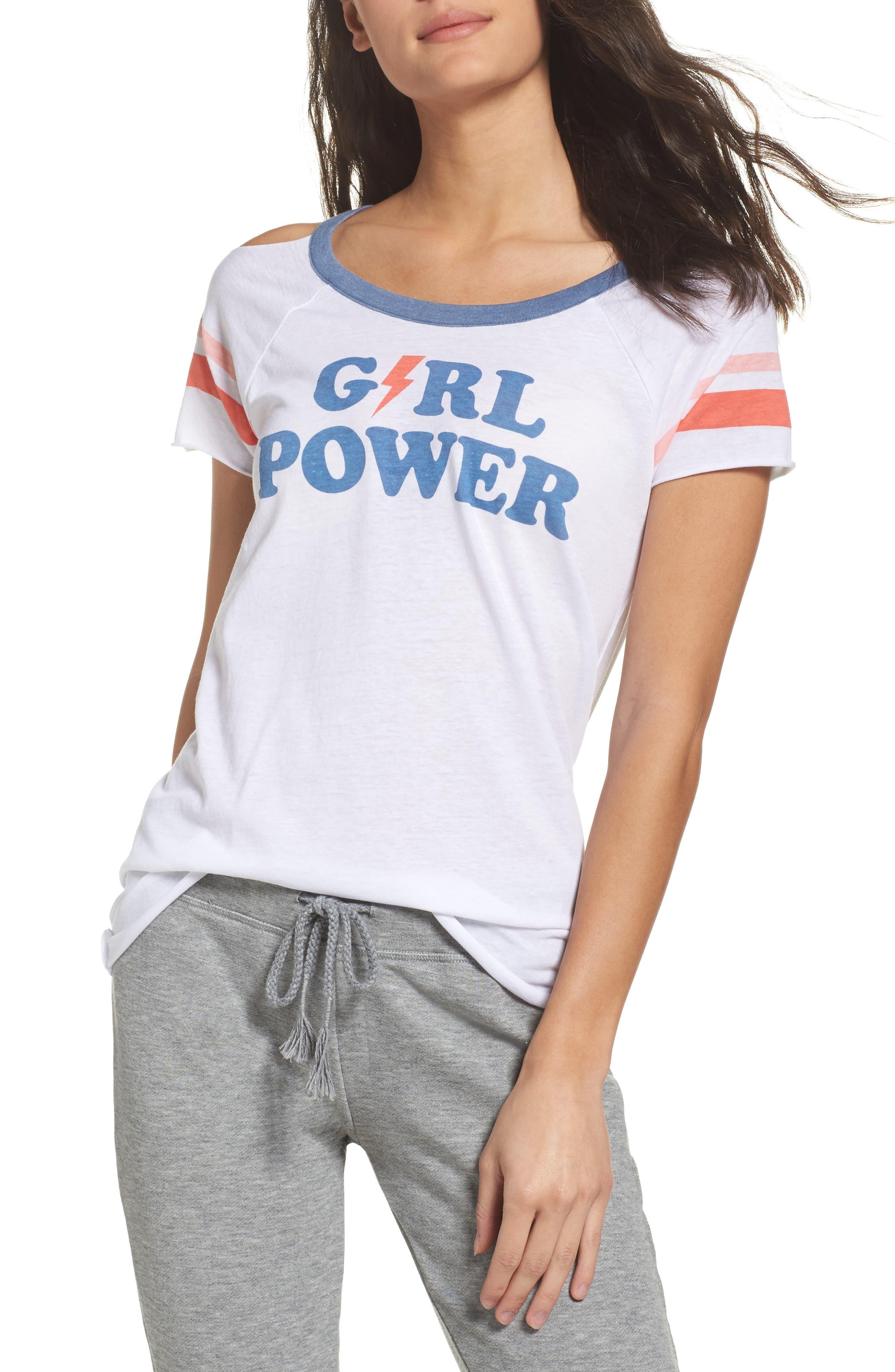 Chaser Girl Power Lounge Tee