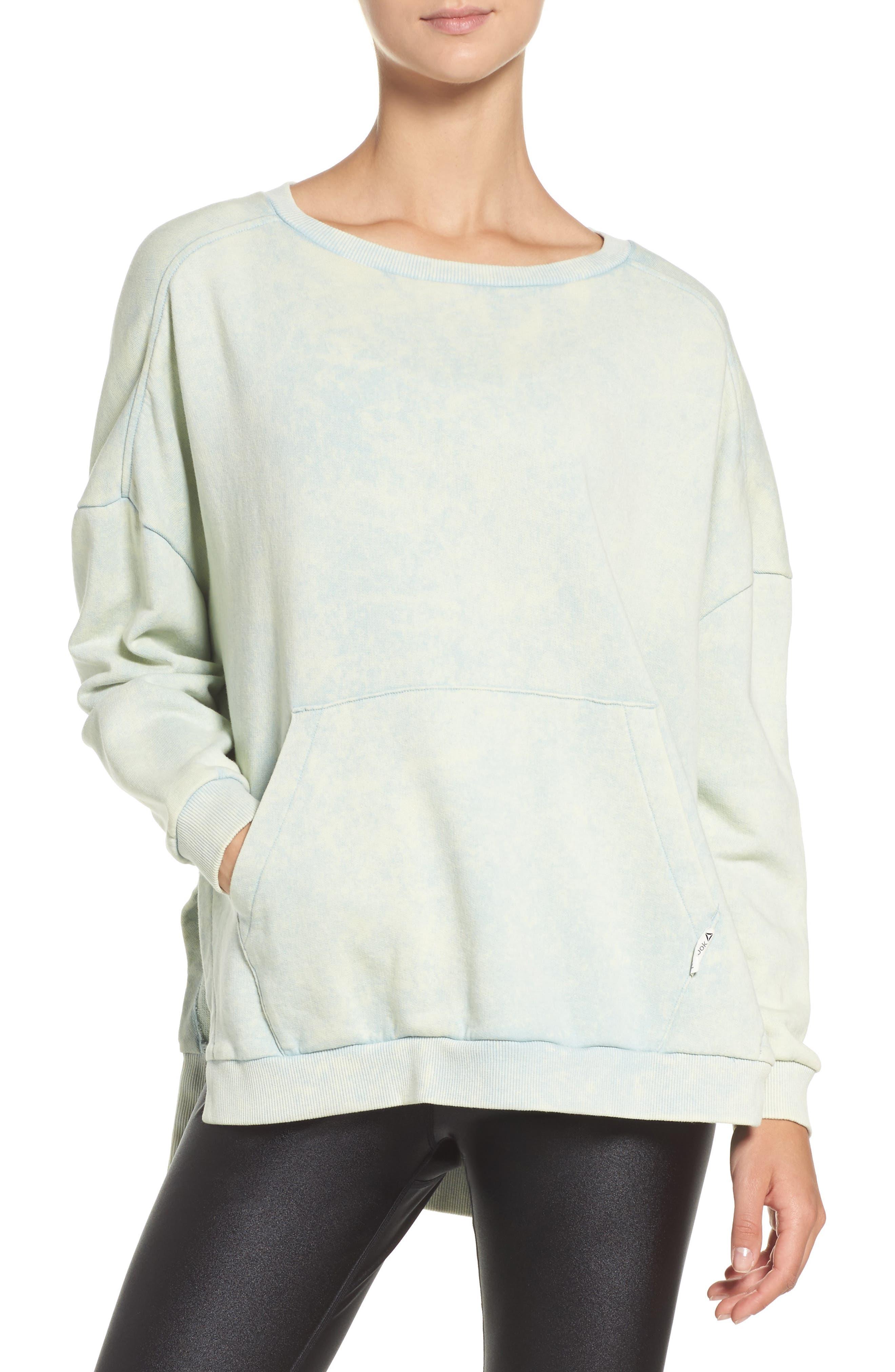 Main Image - Reebok Favorite Oversized Sweatshirt