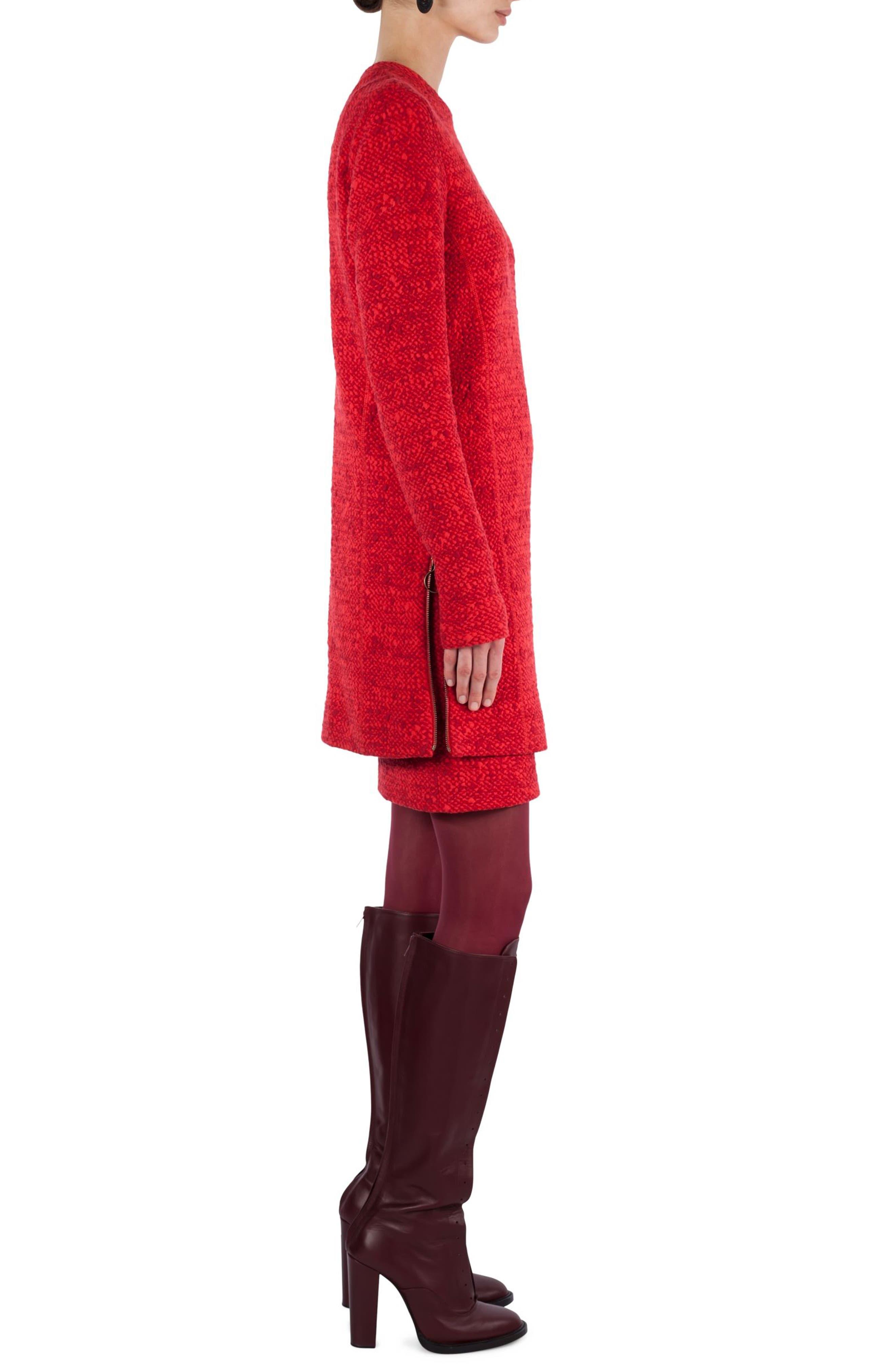 Alternate Image 3  - Akris punto Mélange Knit Tunic Pullover