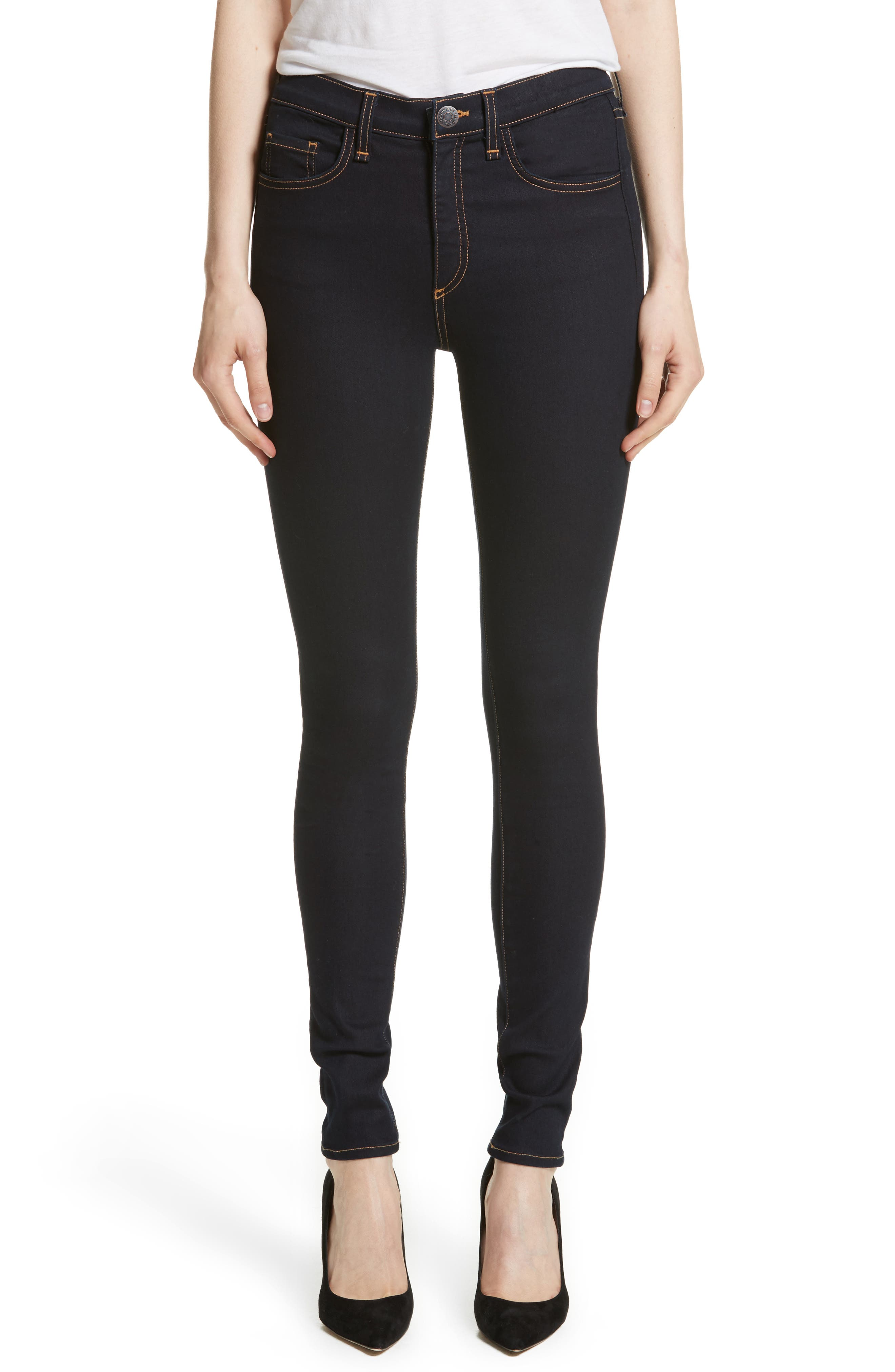 Kate Skinny Jeans,                         Main,                         color, Indigo