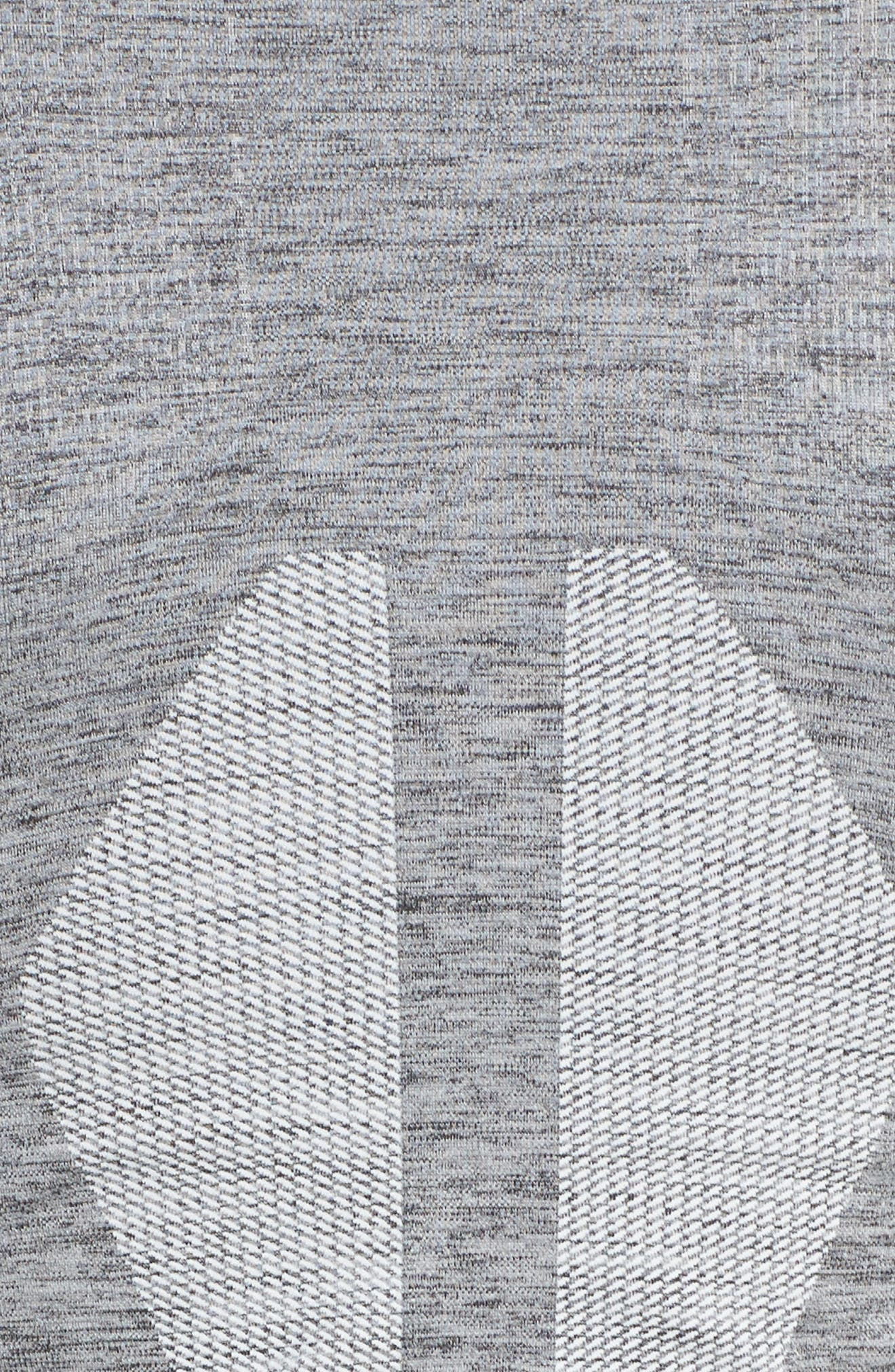 Summit Seamless Jacket,                             Alternate thumbnail 5, color,                             Grey Marl