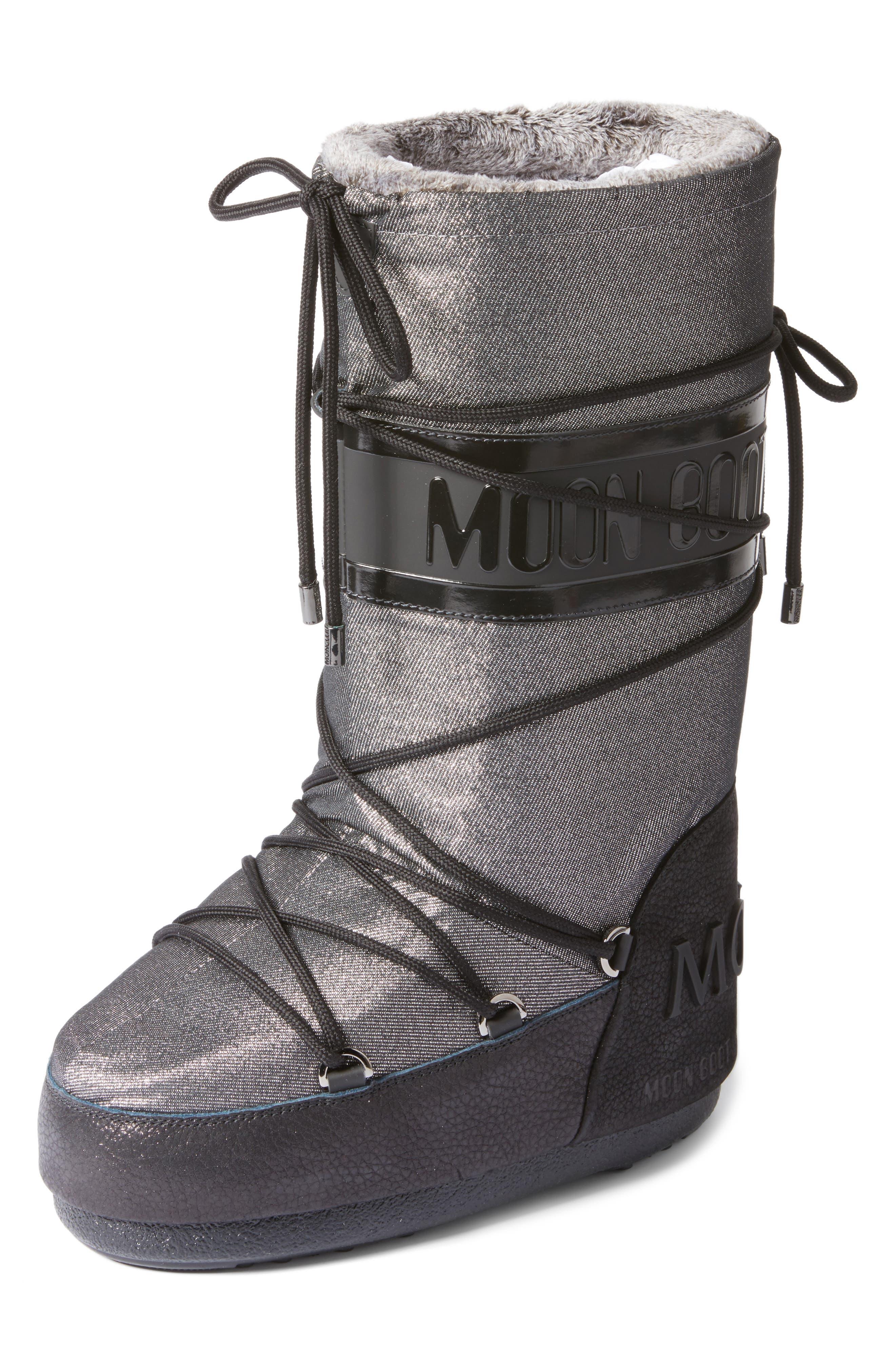 Alternate Image 1 Selected - Moncler Saturne Moon Boot (Women)